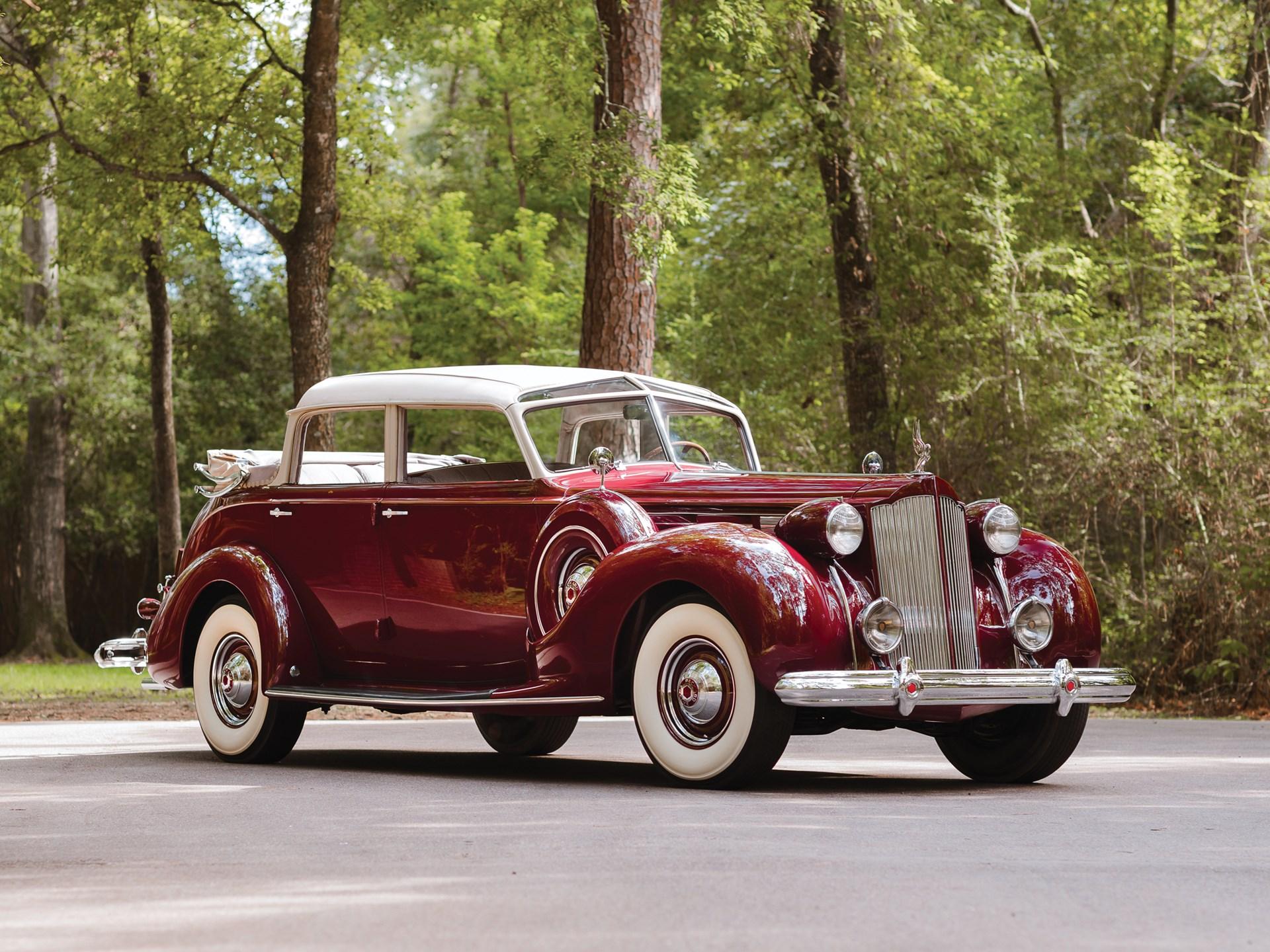 Image result for rm hershey 1938 Packard Twelve Brunn Cabriolet Touring