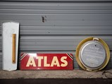 Atlas Clock, Thermometer, and Sign - $