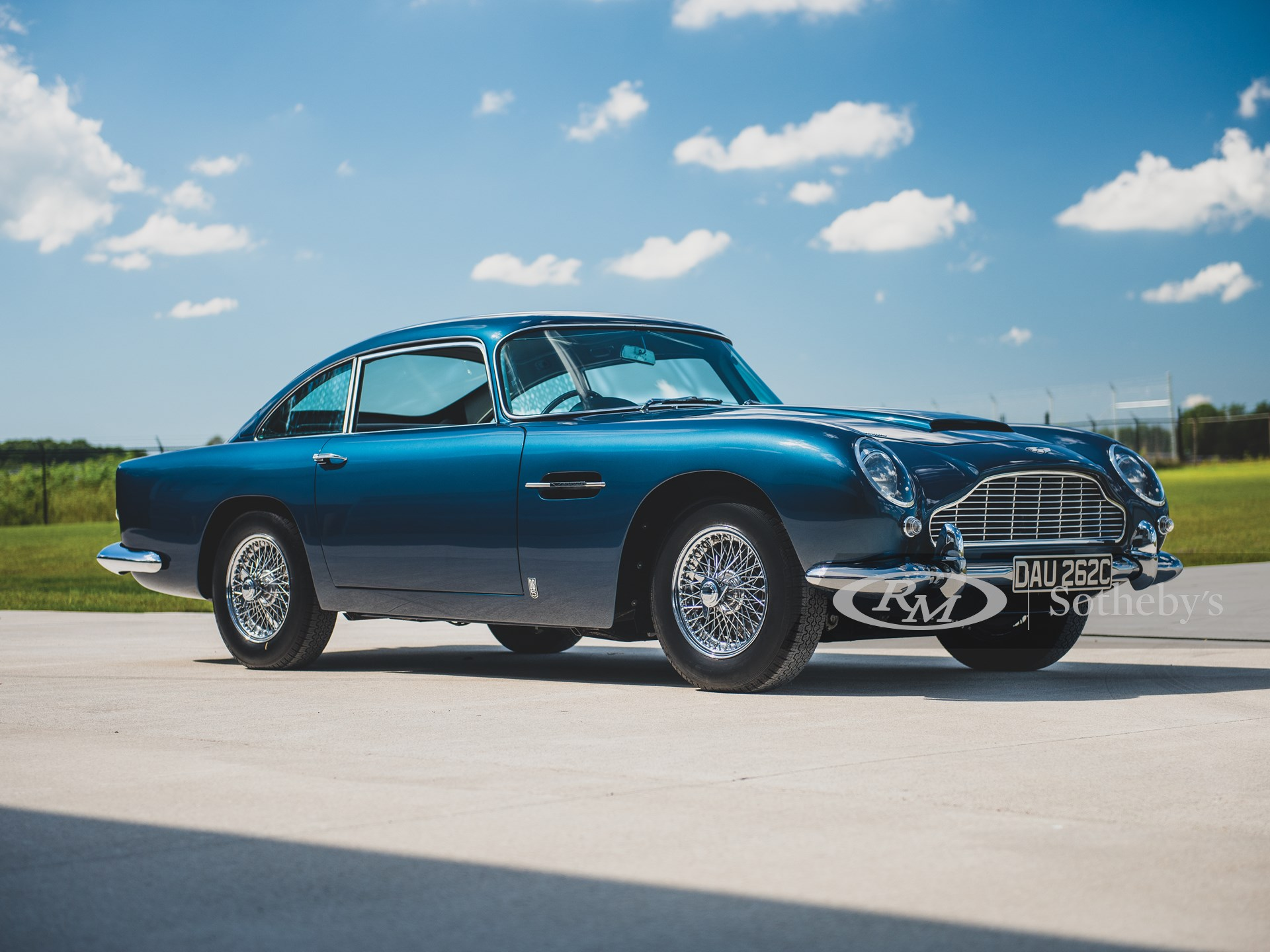1964 Aston Martin Db5 Vantage Specification The Elkhart Collection Rm Sotheby S