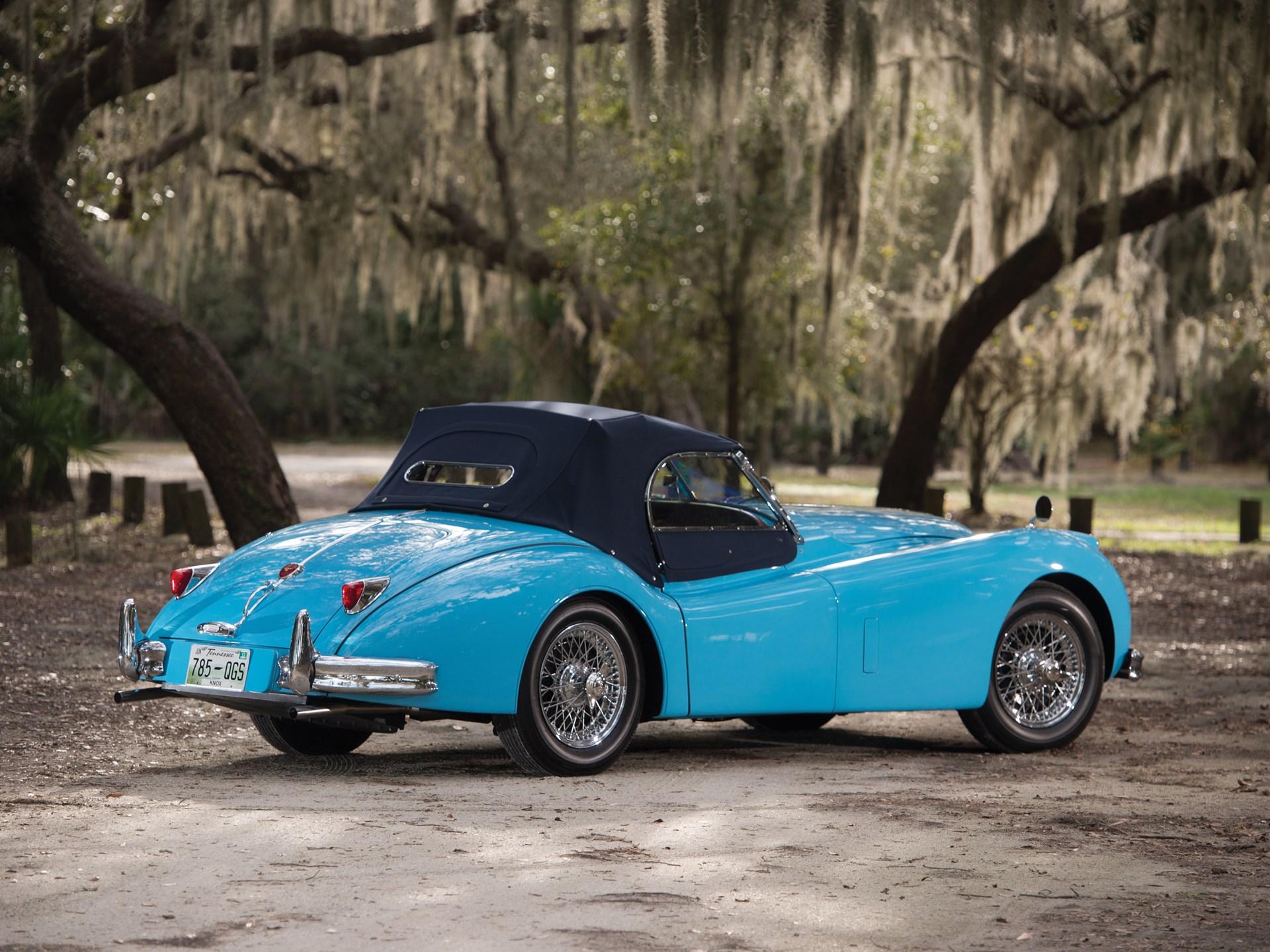 RM Sotheby's - 1954 Jaguar XK140 MC Roadster | Amelia ...