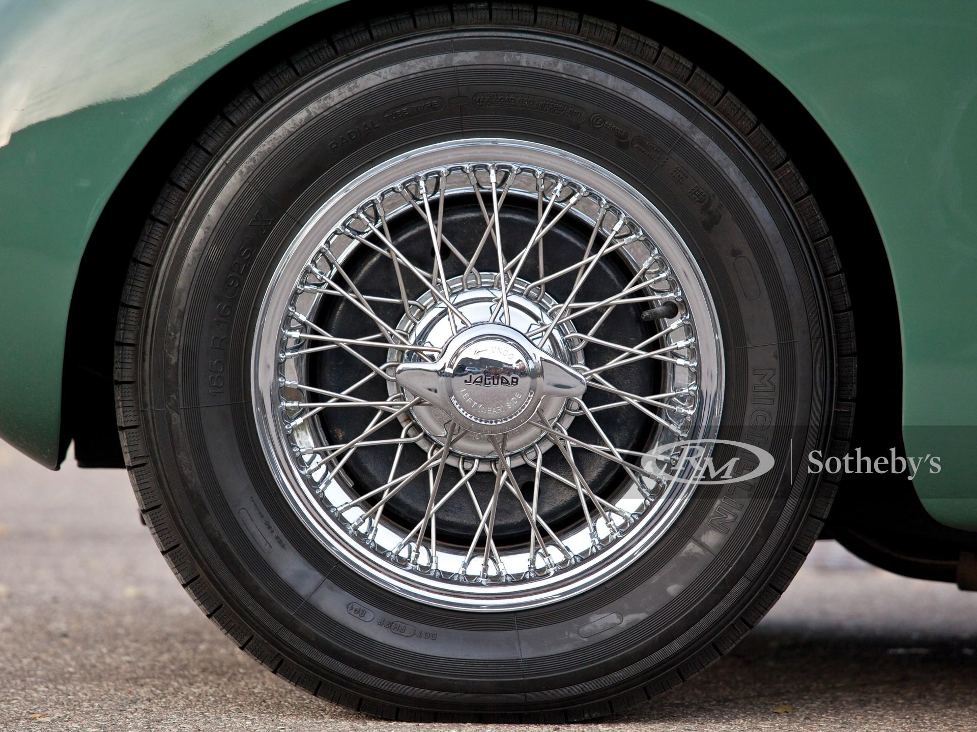 1952 Jaguar XK 120 SE Fixed Head Coupe  -