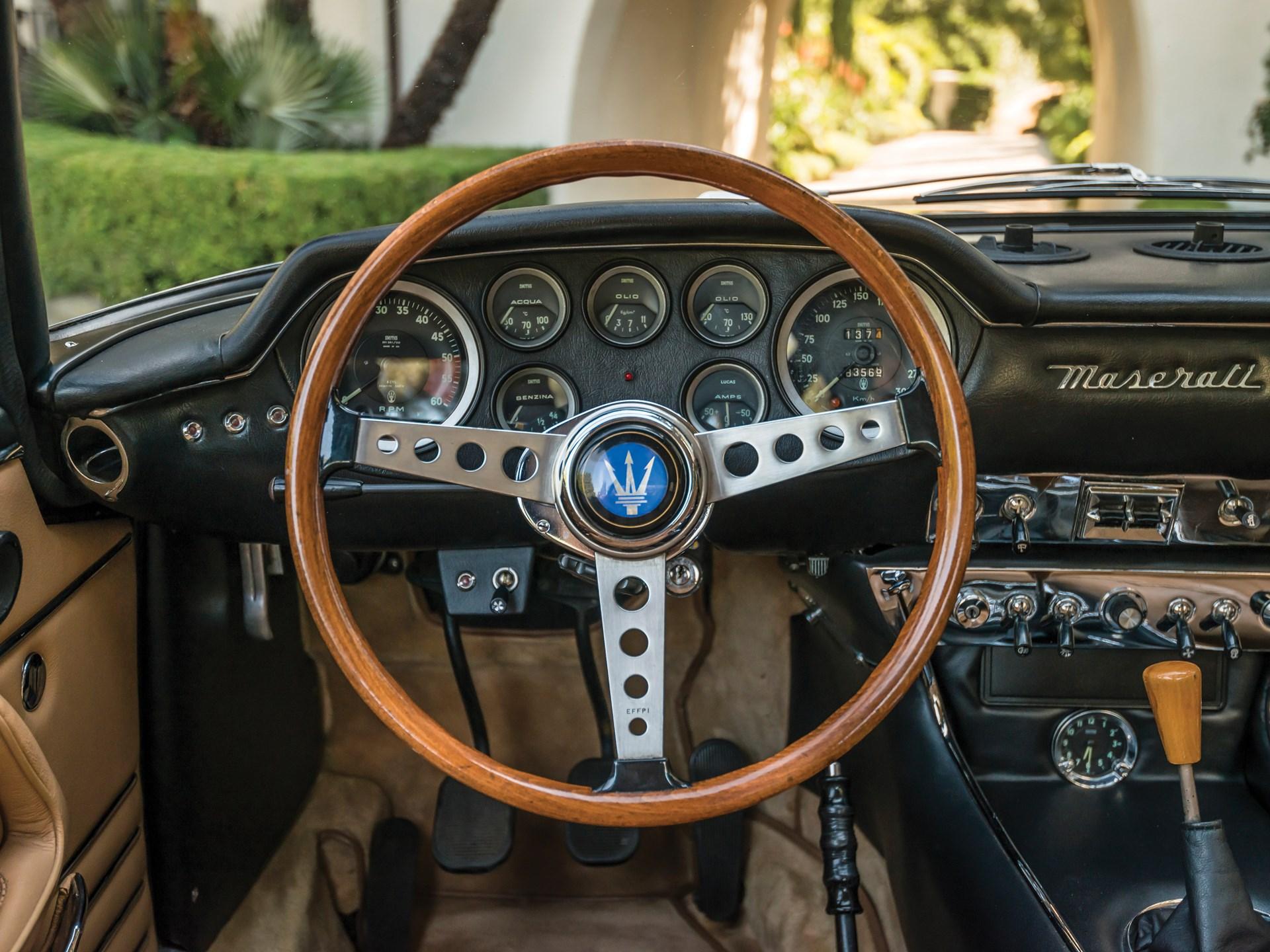 1967 Maserati Mexico Prototipo by Frua