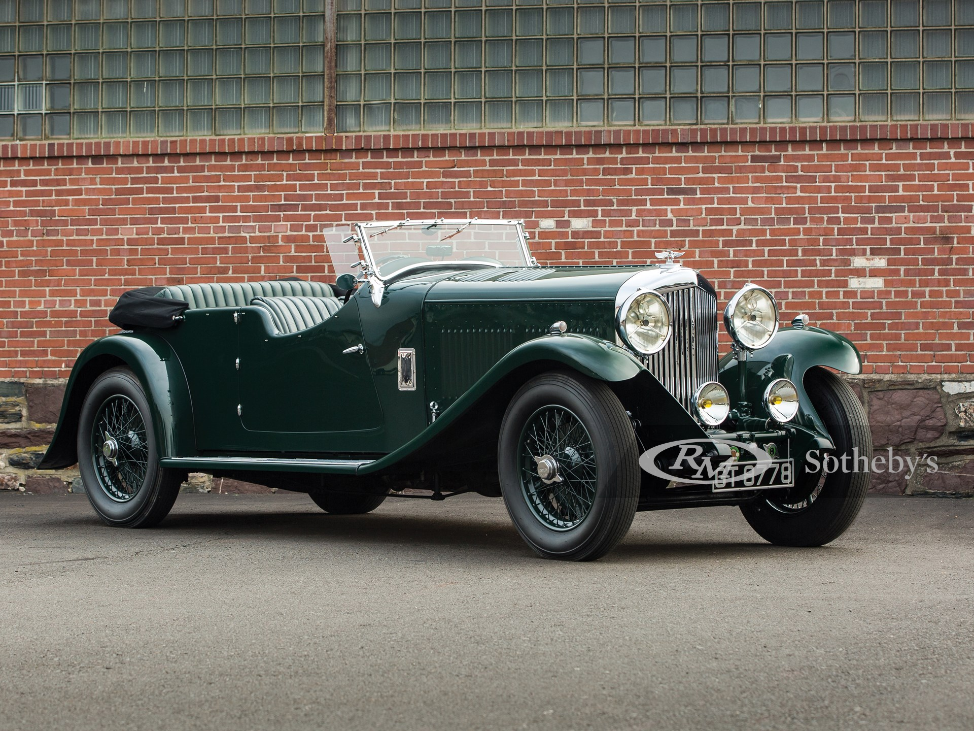 1931 Bentley 8-Litre Tourer by Swallow