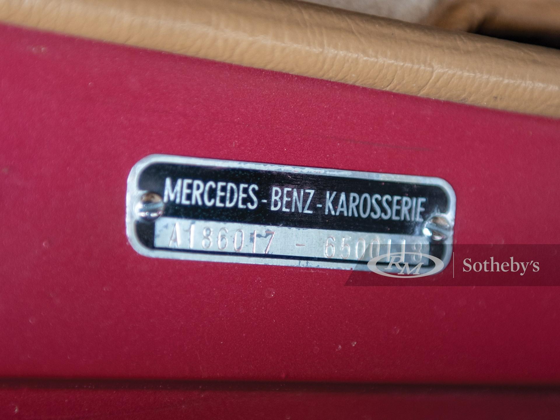 1956 Mercedes-Benz 300 C Sedan  -