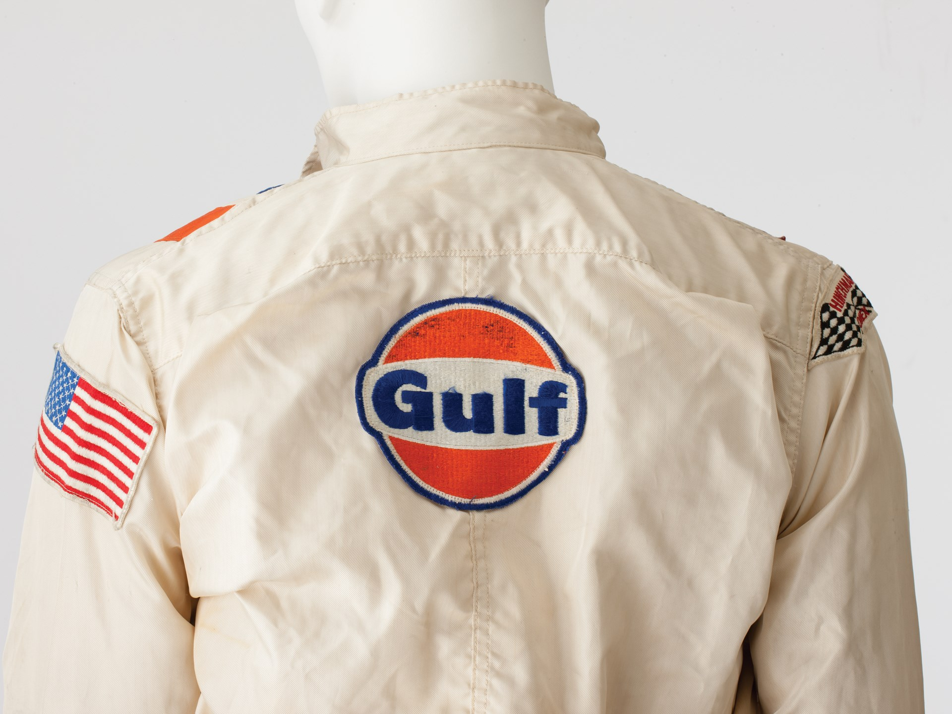 "Racing Suit and Helmet worn by Steve McQueen in ""Le Mans"""