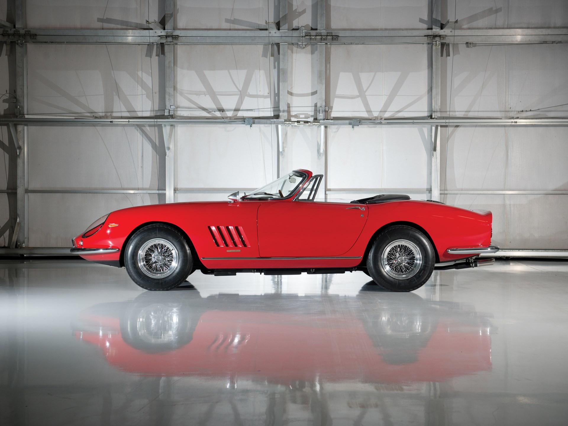 1967 Ferrari 275 GTB/4*S N.A.R.T. Spider by Scaglietti