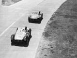 1954 Maserati A6GCS by Fiandri & Malagoli - $2078 competing at the 1955 Buenos Aires 1000KM, leading Alejandro de Tomaso's A6GCS.