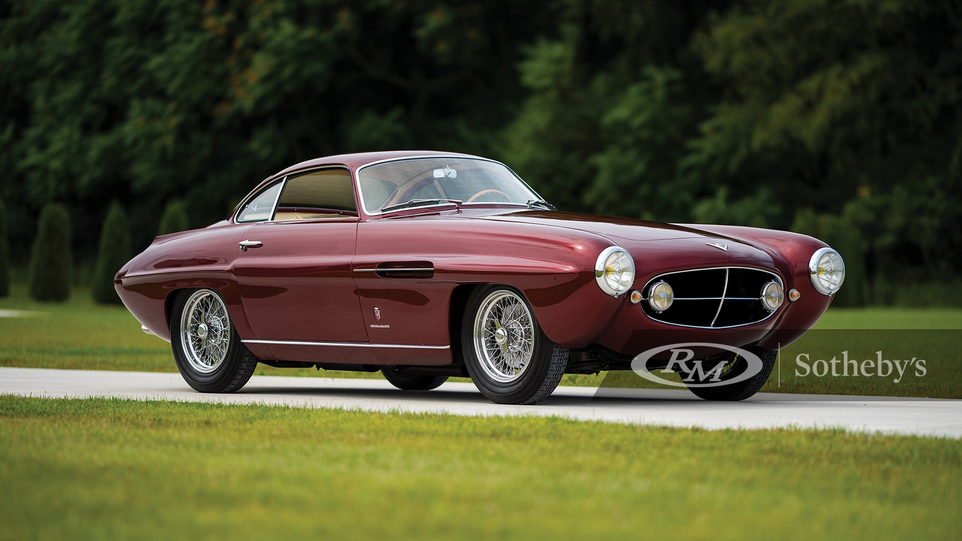 RM Sotheby's The Elkhart Collection 2020, 1953 Fiat 8V Supersonic by Ghia