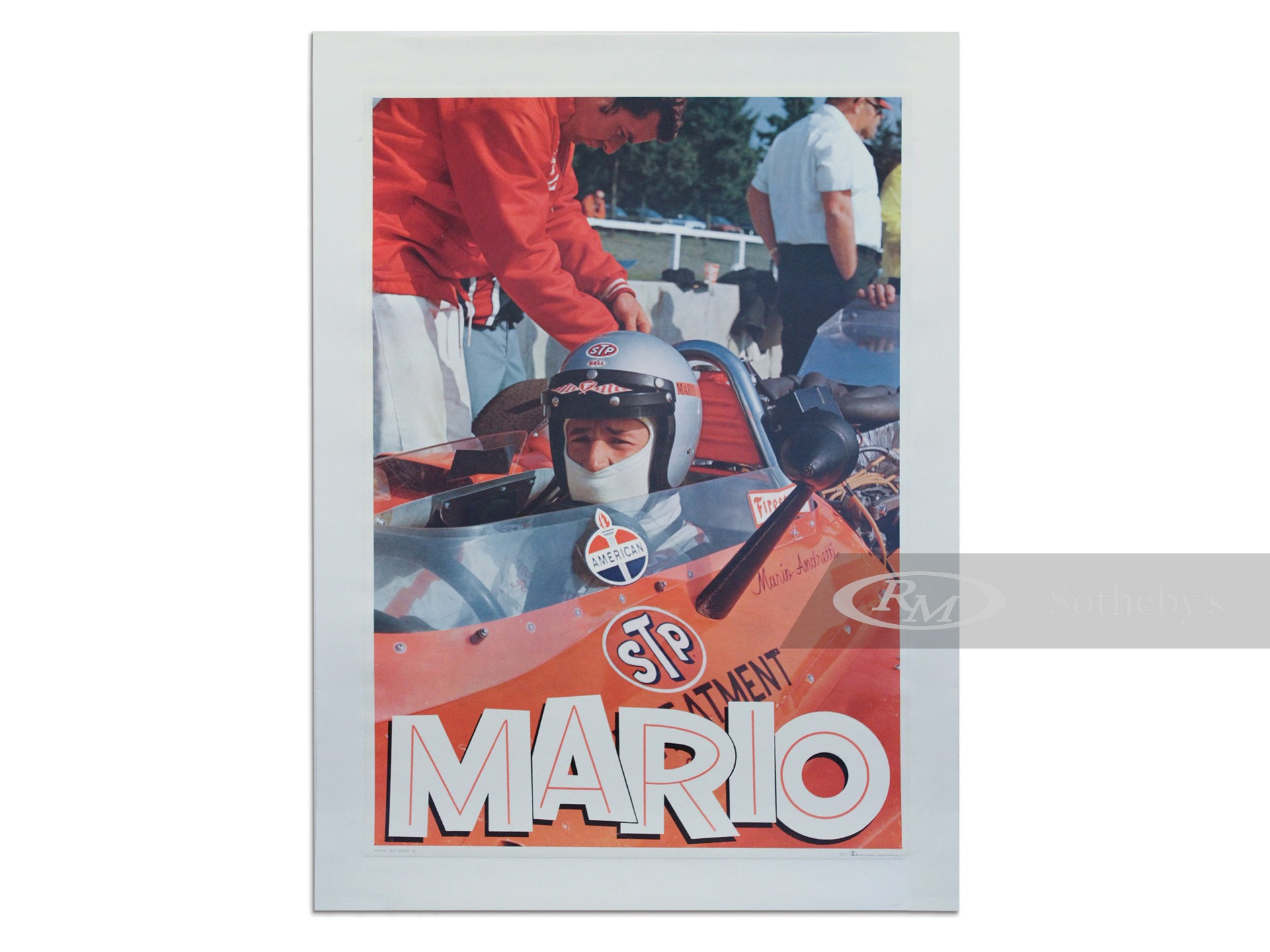 """Mario"" Early Portrait Poster, ca. 1970s -"