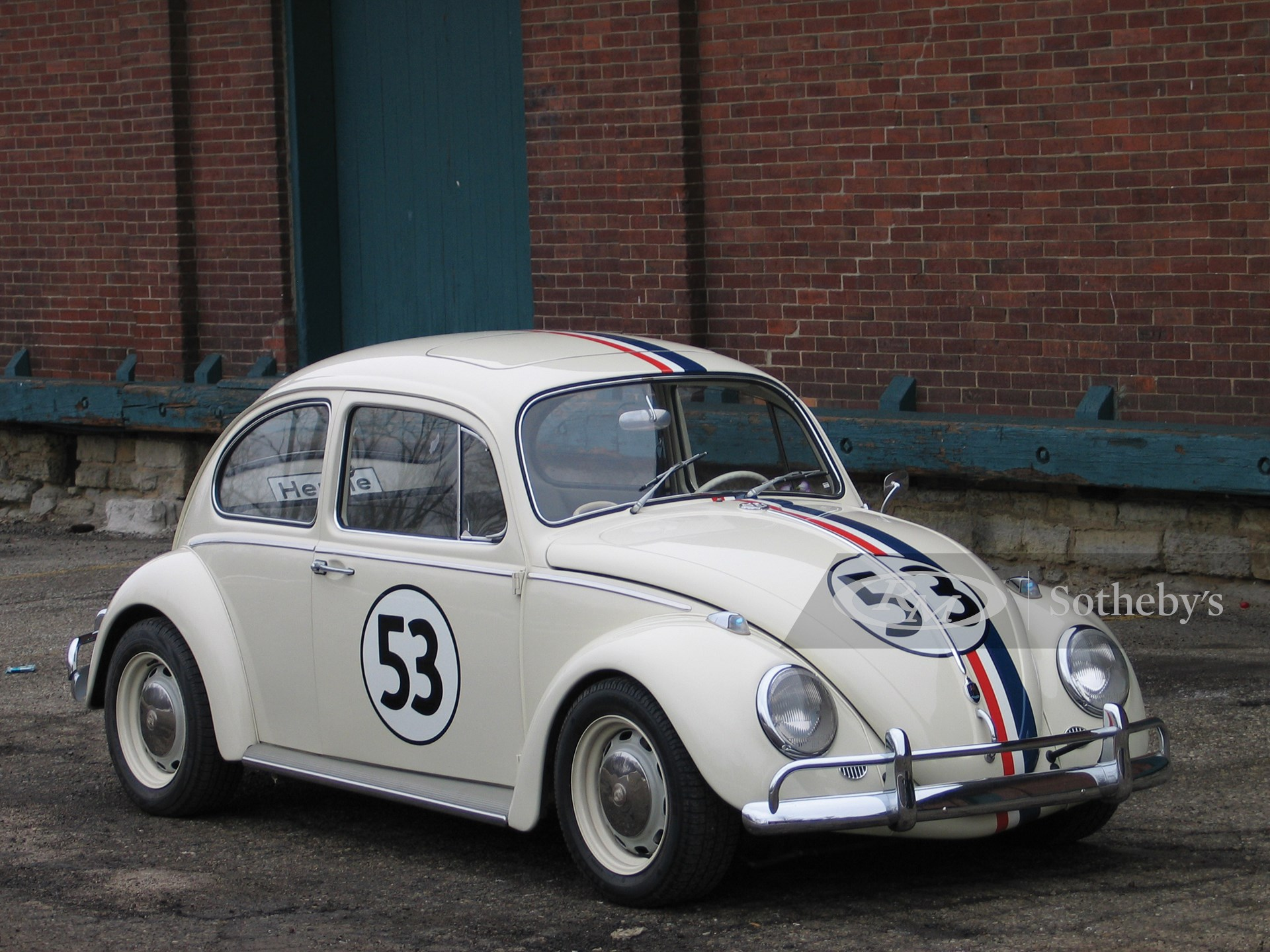 "1967 Volkswagen ""Herbie the Love Bug"" Replica  -"
