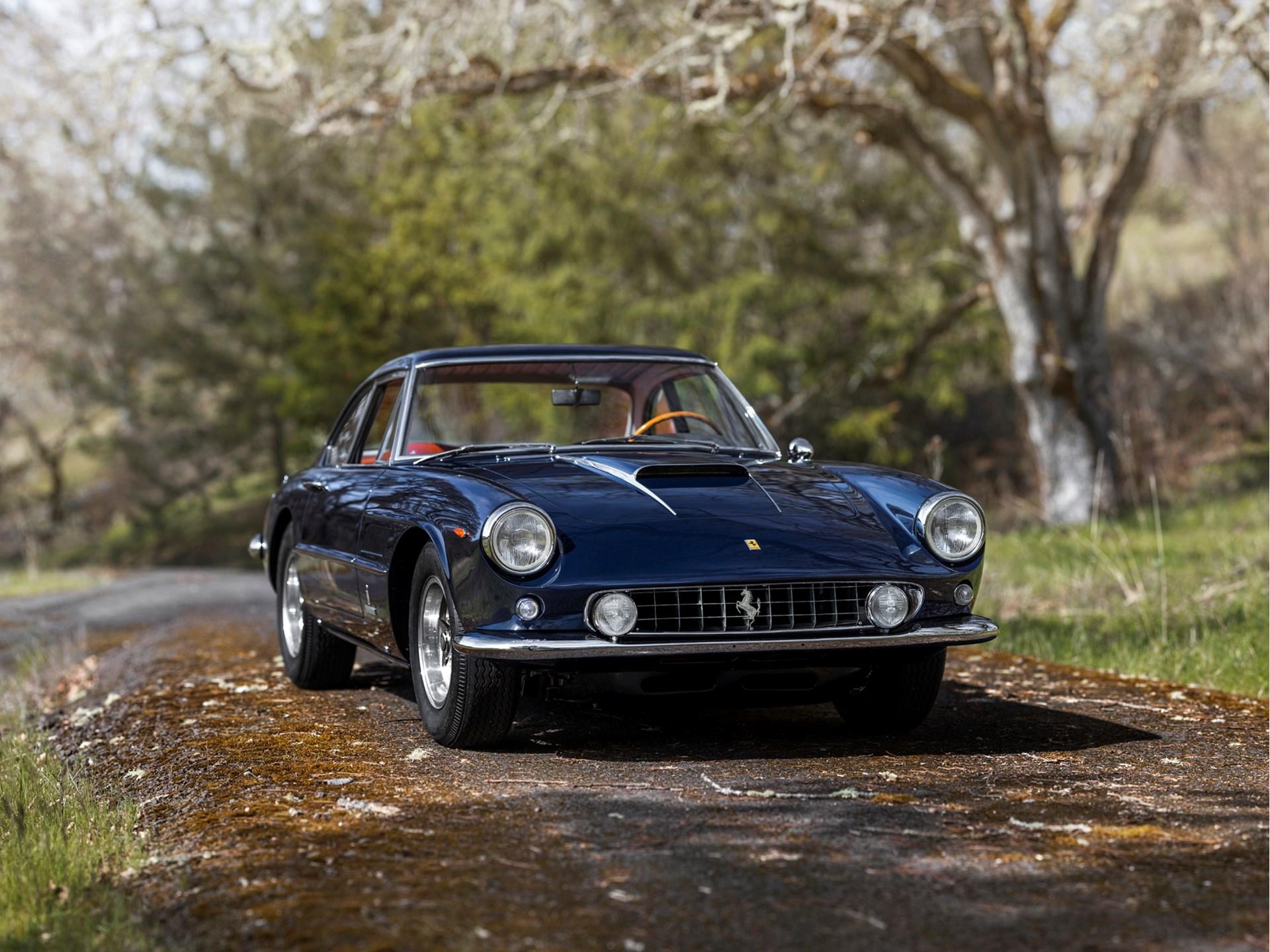 1961 Ferrari 400 Superamerica SWB Coupe Aerodinamico by Pininfarina