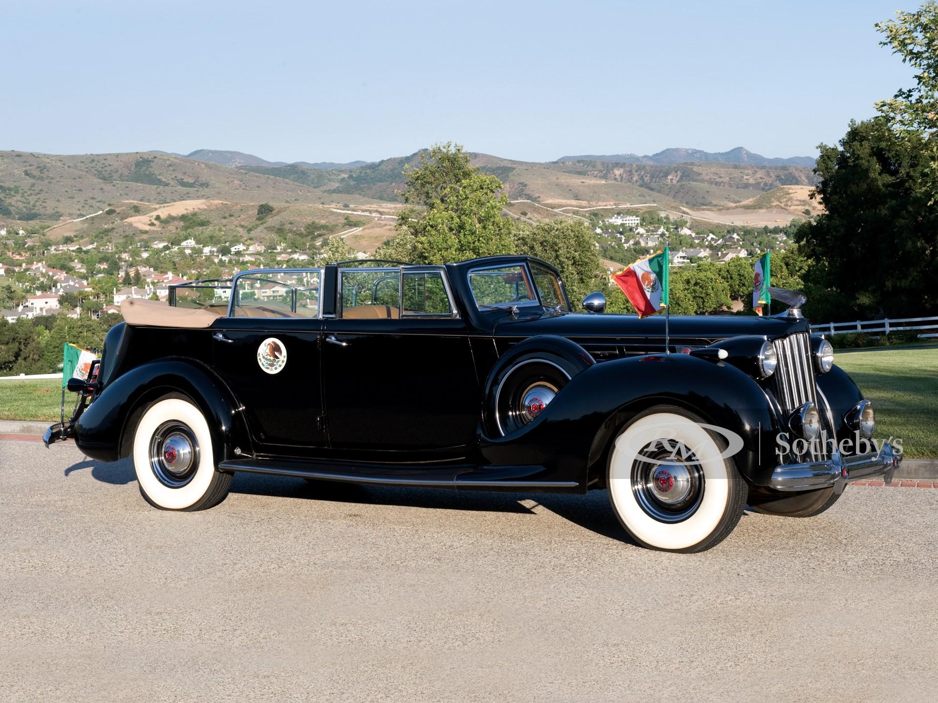 1939 Packard Twelve Armored Convertible Sedan