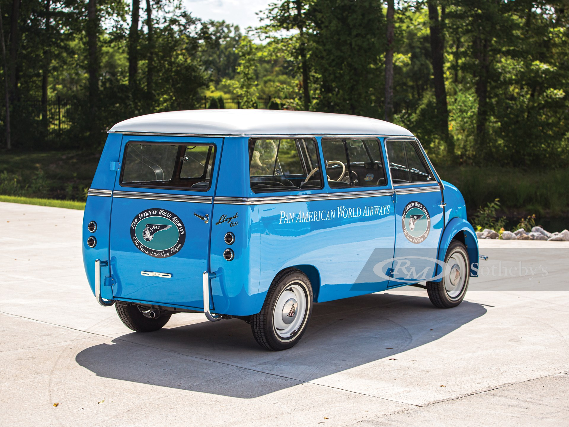 """1960 Lloyd LS 600 Kombi """"Pan Am""""  -"""