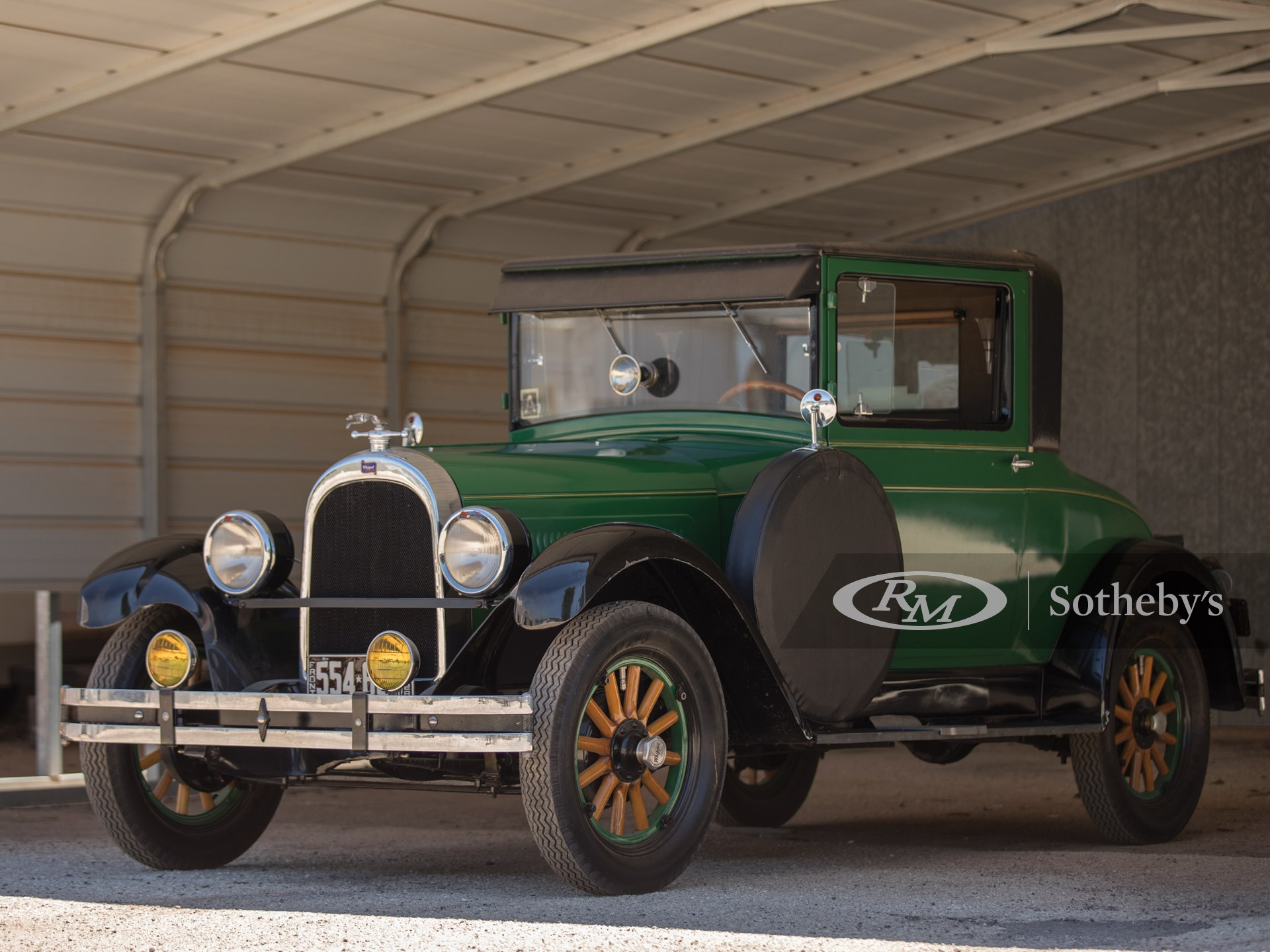 1928 Whippet Model 98 Coupe