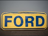 Ford Plastic Dealership Sign - $