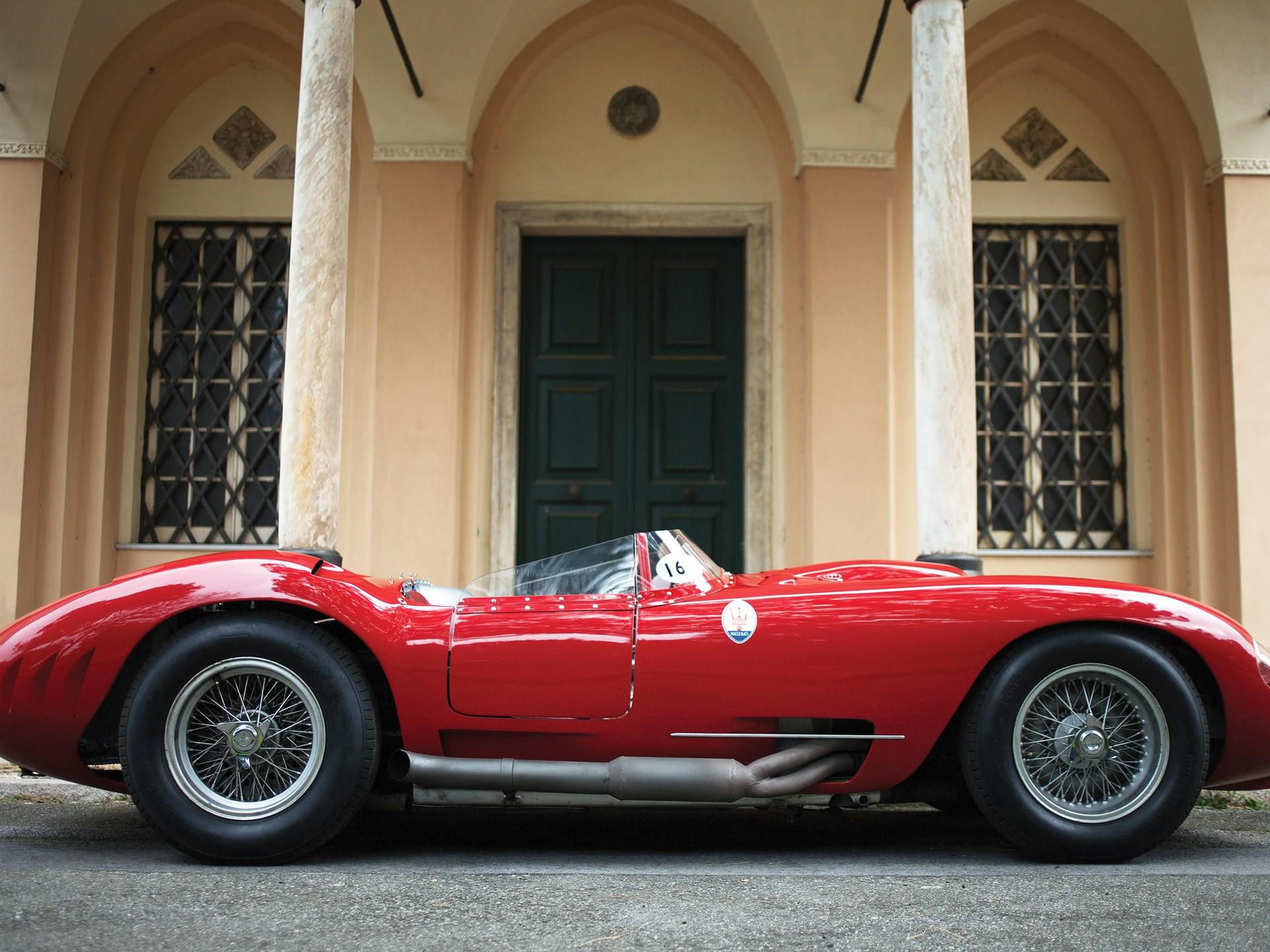 1956 Maserati 450S Prototype by Fantuzzi
