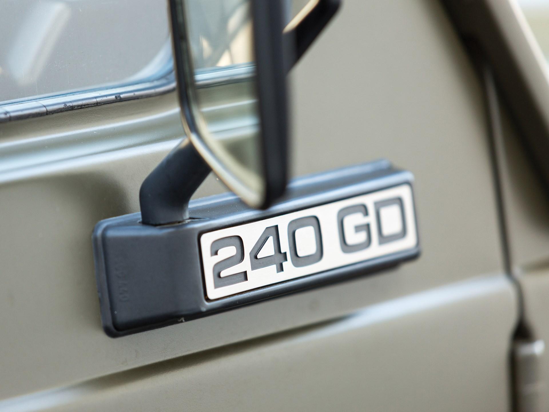 1984 Mercedes-Benz 240 GD