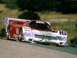 1986 Porsche 962 IMSA GTP  - $Riverside 500 KM, Price Cobb/Rob Dyson, qualified 4th, finished 4th, 26 April 1987.