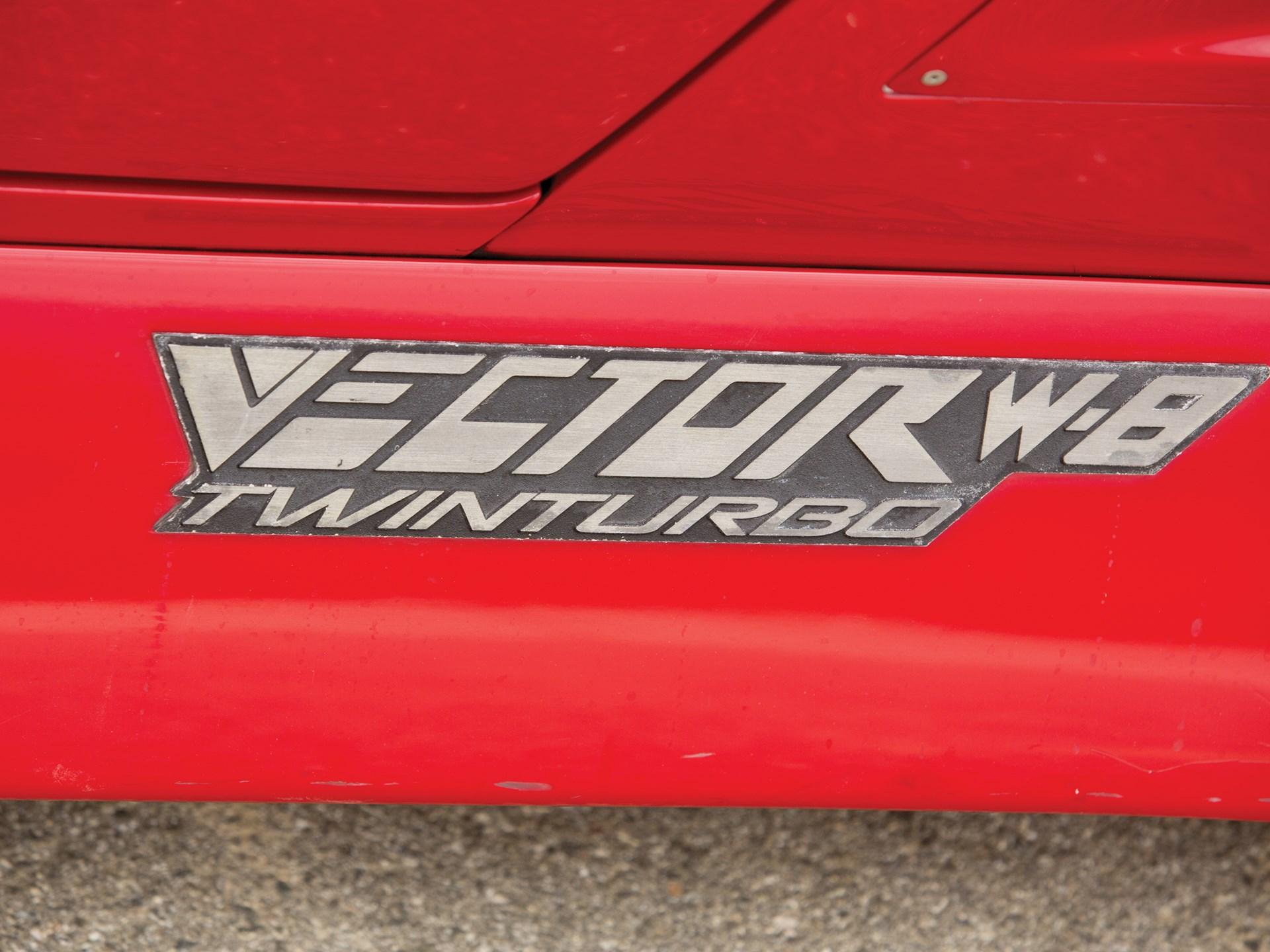 1992 Vector W8 Twin Turbo