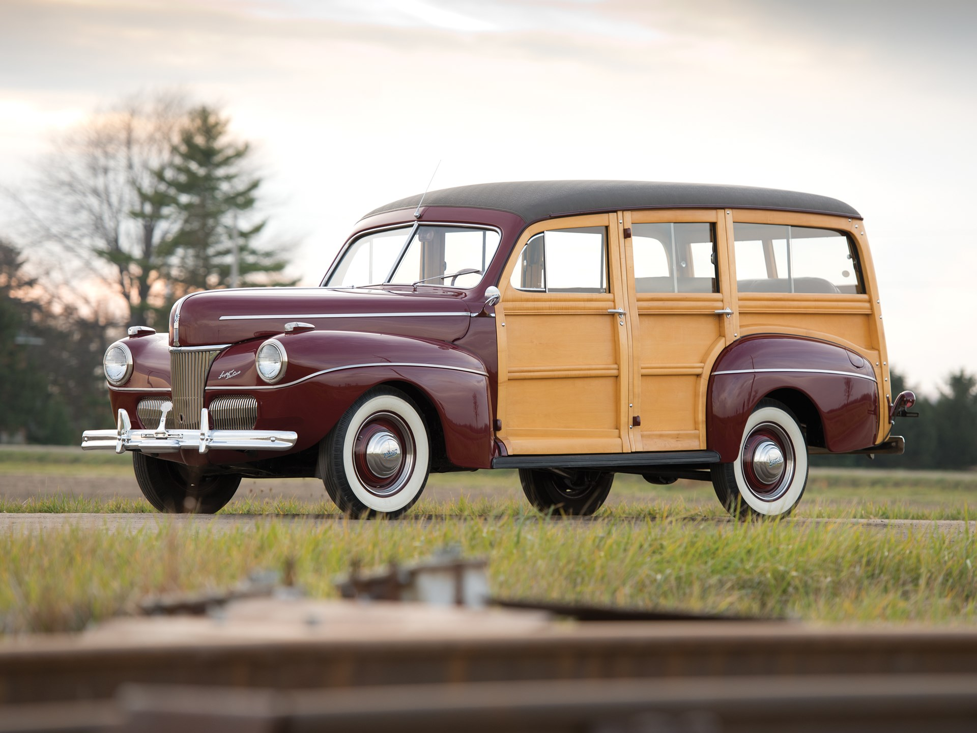 Rm Sothebys 1941 Ford Super Deluxe Station Wagon Arizona 2015 Coupe Convertible