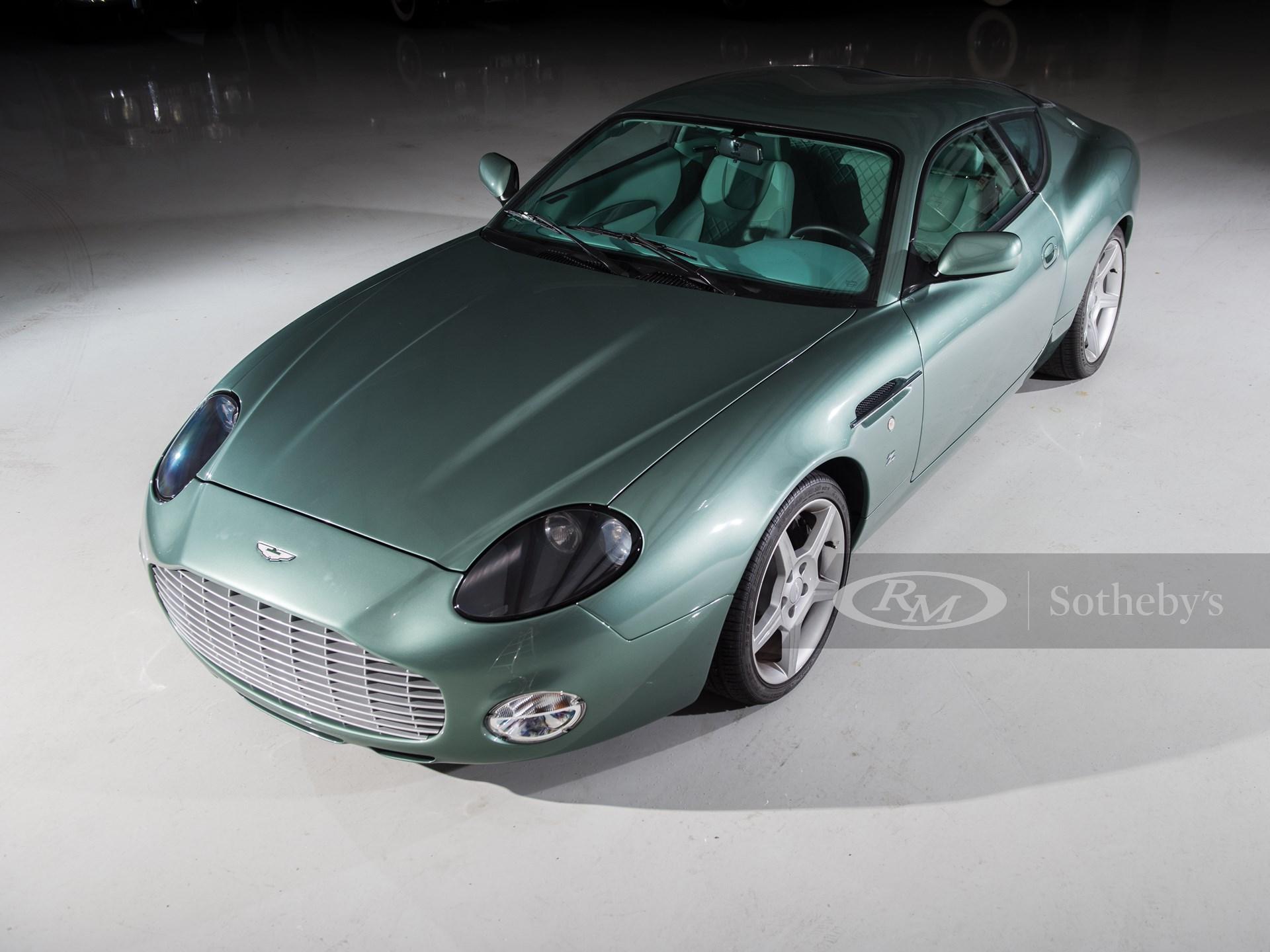 2003 Aston Martin Db7 Zagato Amelia Island 2017 Rm Sotheby S