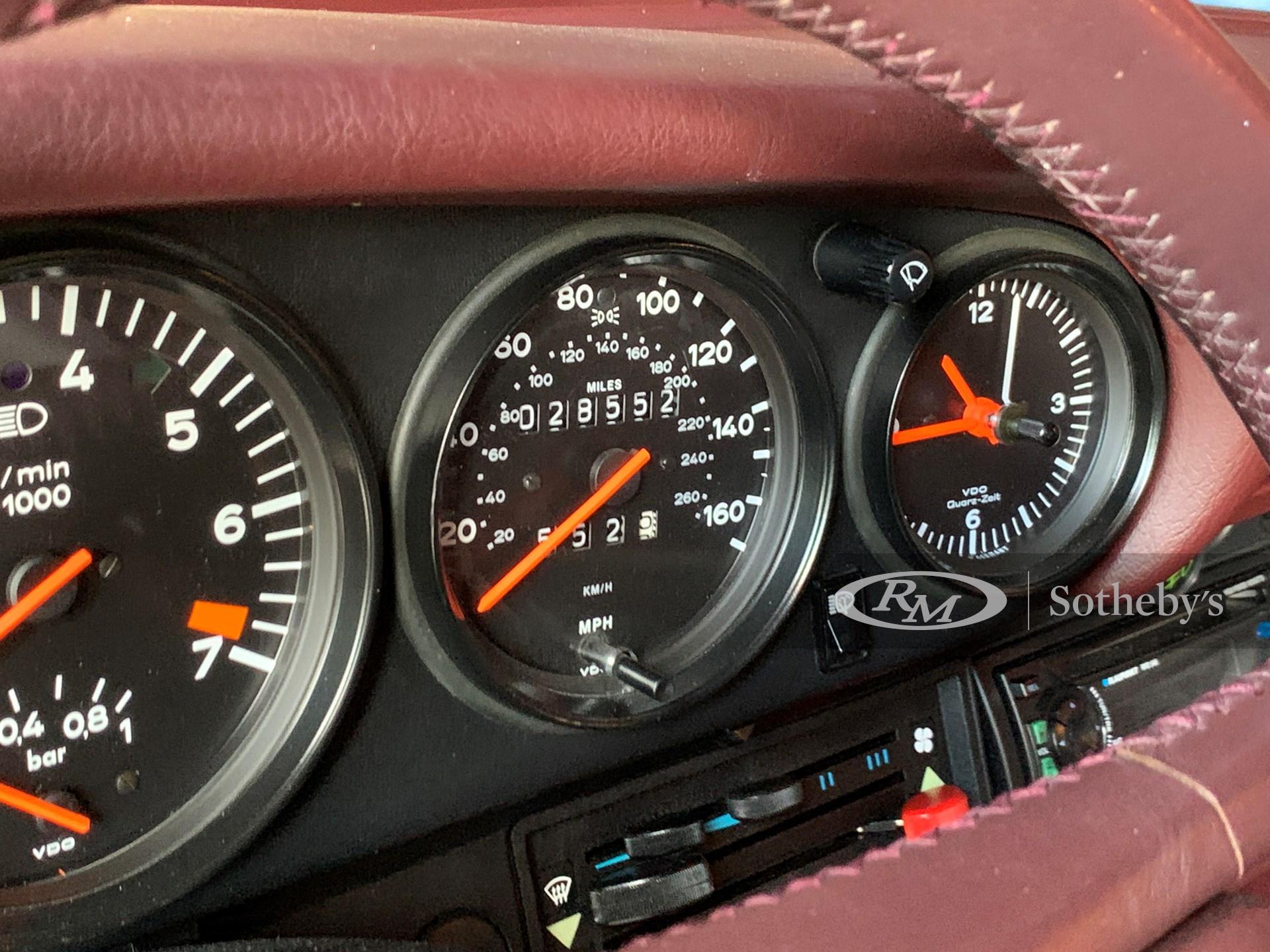 1987 Porsche 911 Turbo  -