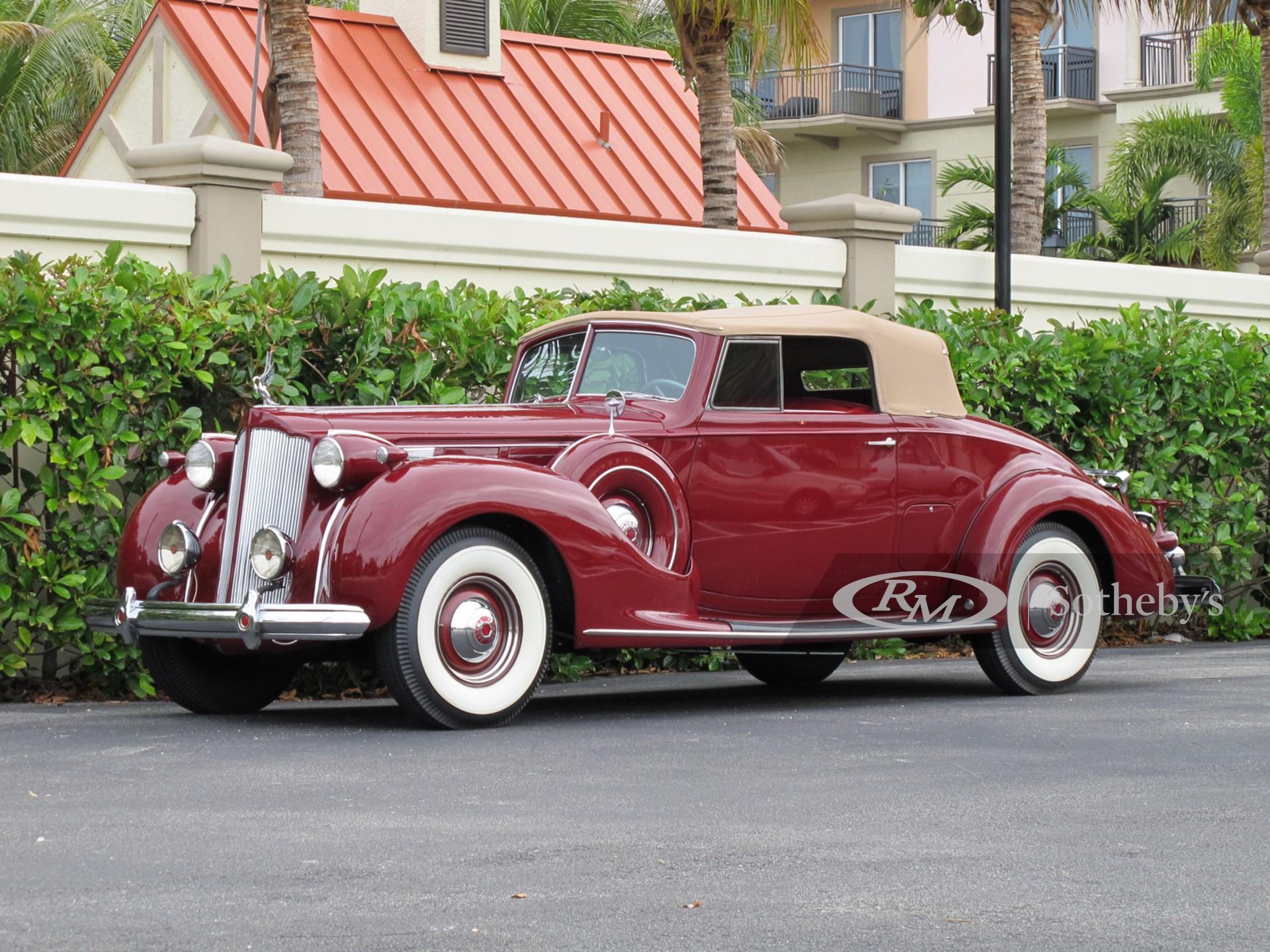 1938 Packard Twelve Convertible Coupe