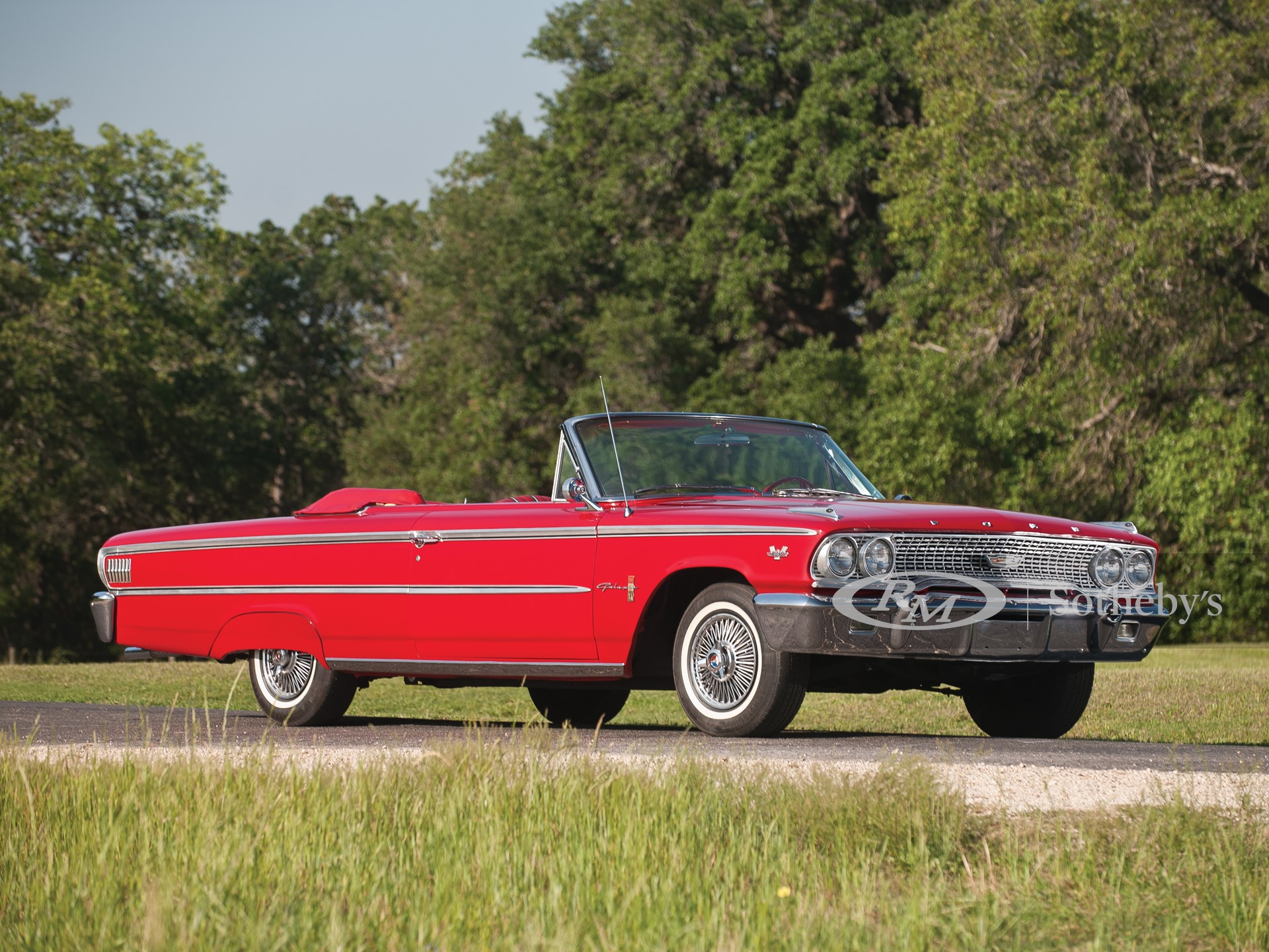 1963 Ford Galaxie 500XL Sunliner 'Z Code' Convertible
