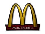 McDonald's Golden Arches Lighted Restaurant Sign - $