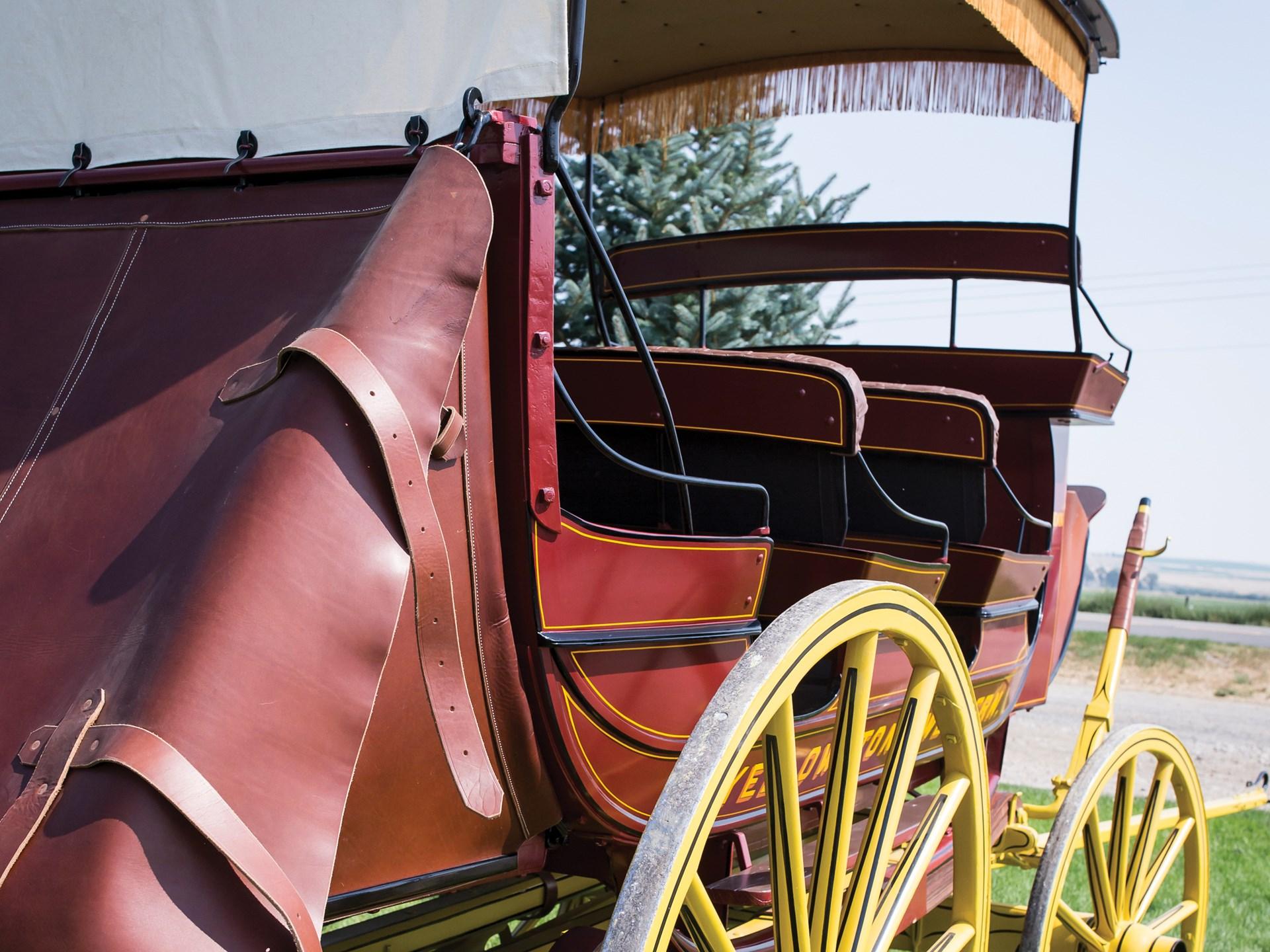"""1902 Abbott-Downing Yellowstone-Western 11-Passenger Stagecoach """"Sheridan"""""""