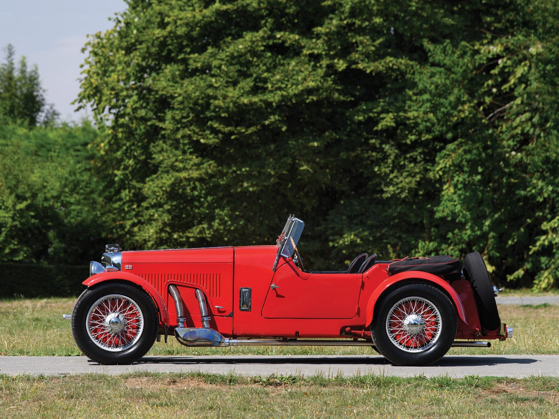 1934 Aston Martin 1½-Litre Mark II 2/4-Seater by Bertelli