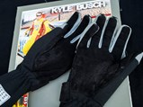 Kyle Busch Worn and Signed Gloves - $