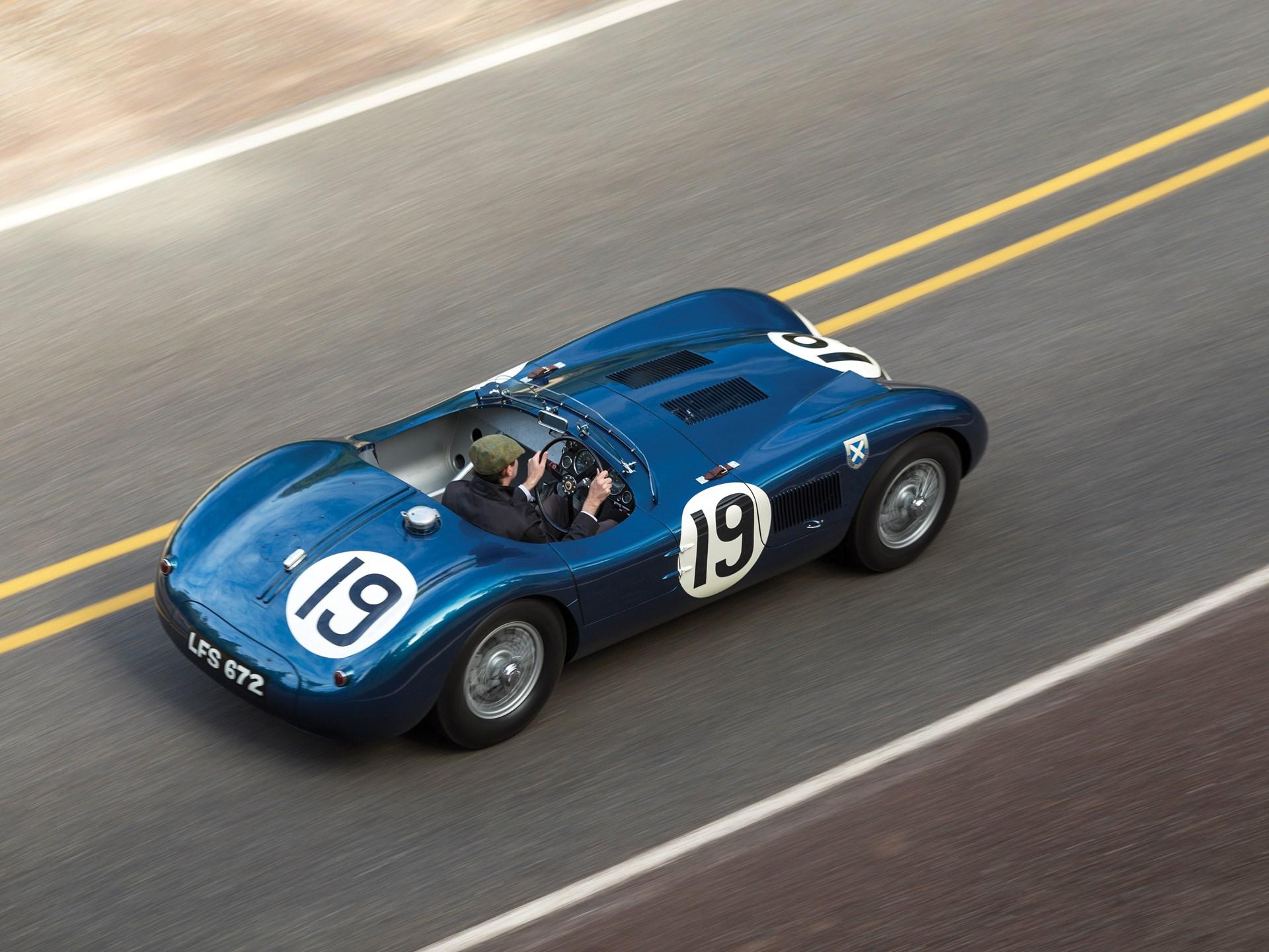Nice 1953 Jaguar C Type Works Lightweight