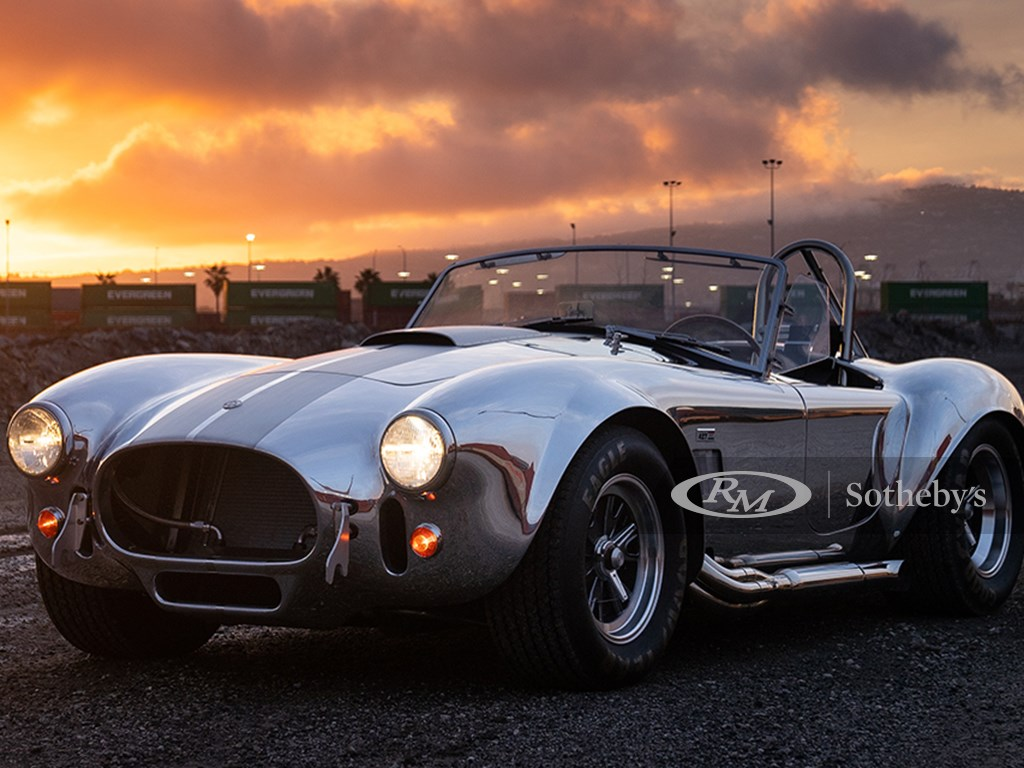1965 Shelby 427 SC Cobra CSX 4428 offered at Icons of Excellence and Haute Luxury Collector Car Auction 2021