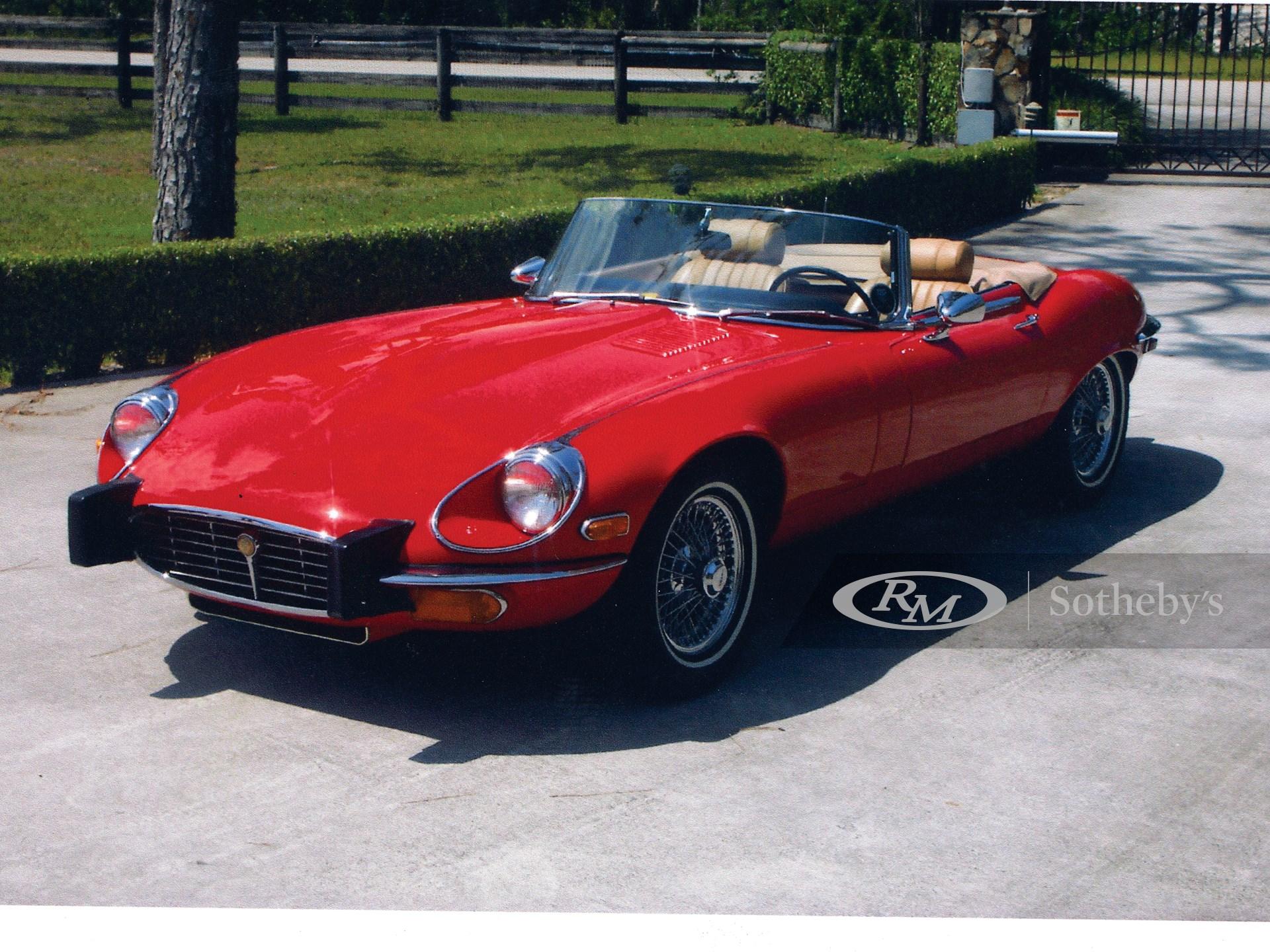 1974 Jaguar XKE Convertible  -
