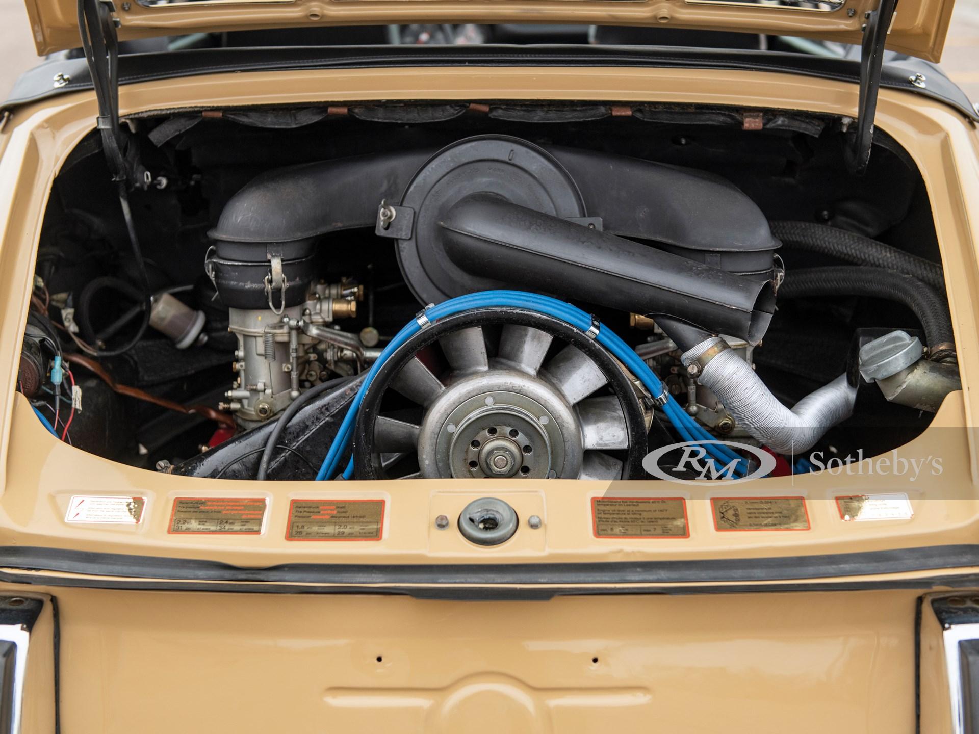 1968 Porsche 911 Soft-Window Targa  -