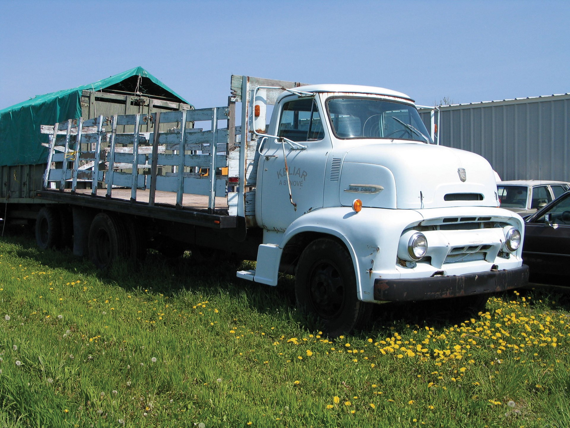 Rm Sothebys 1954 Ford C 600 Stake Truck The Fawcett Movie Cars 2007 For Sale
