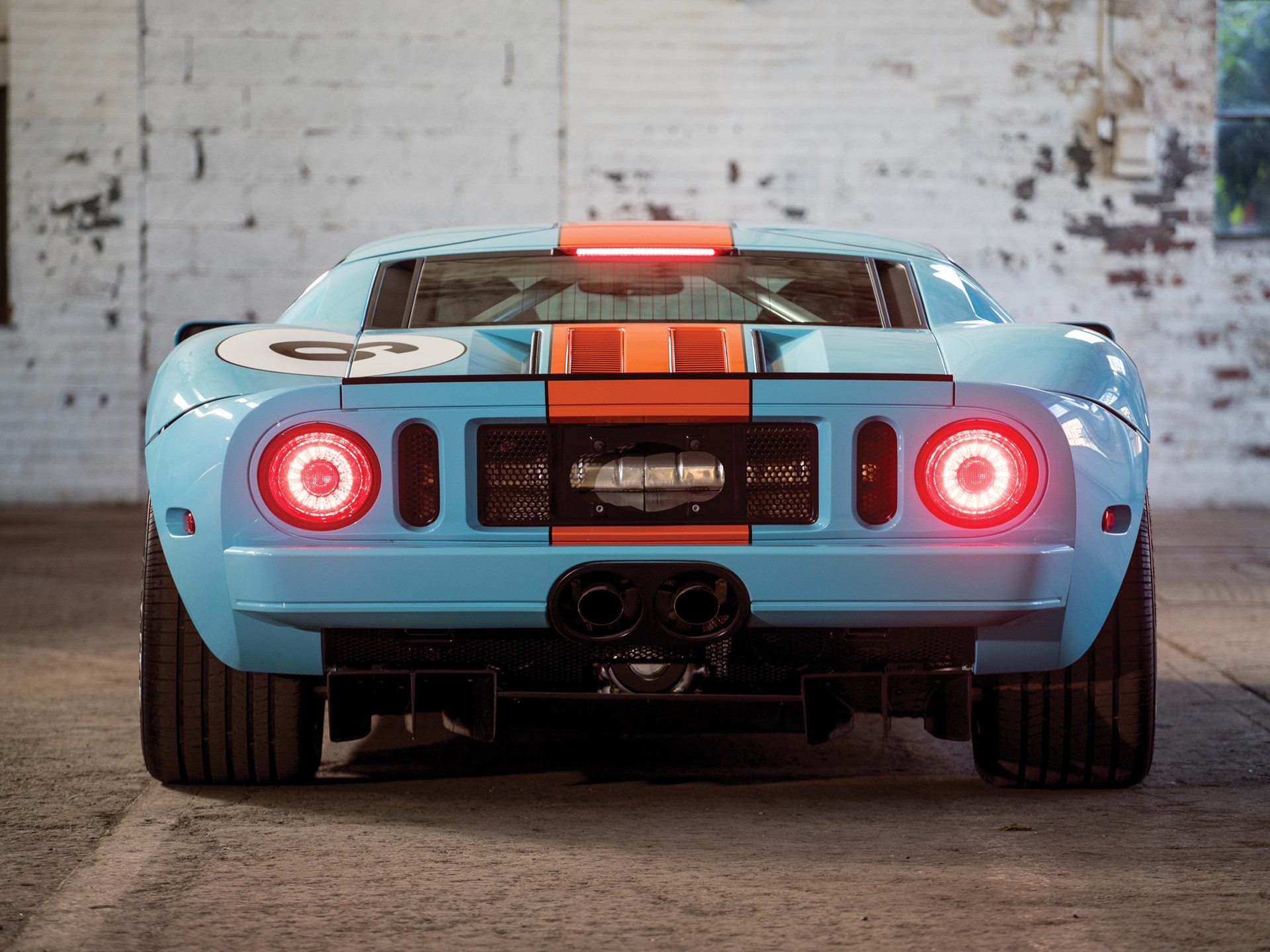 Rm Sotheby S 2006 Ford Gt Heritage Edition Motor City 2016
