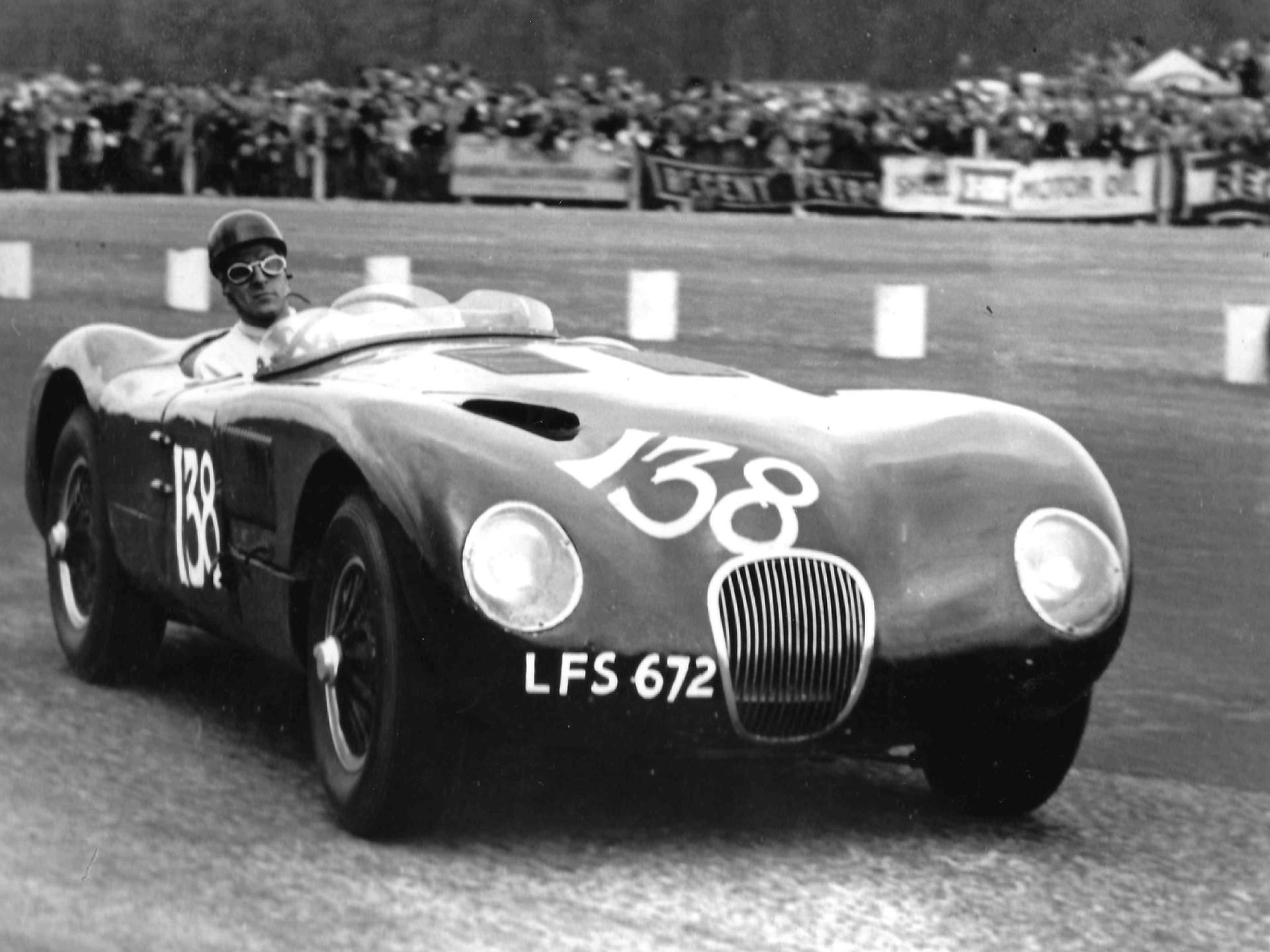 1953 Jaguar C Type Works Lightweight