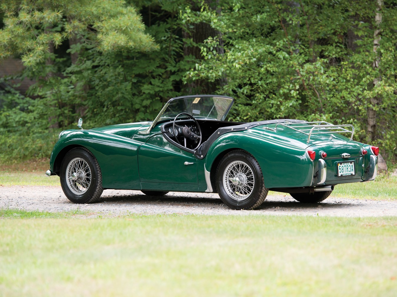 rm sotheby 39 s 1958 triumph tr3a roadster hershey 2014. Black Bedroom Furniture Sets. Home Design Ideas