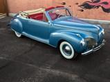 1941 Lincoln Zephyr V-12 Convertible  - $