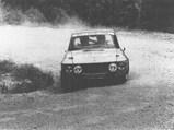 1969 Lancia Fulvia Coupé Rallye 1,6 HF  - $The Fulvia at speed during the 1978 Italian Rally Championship.