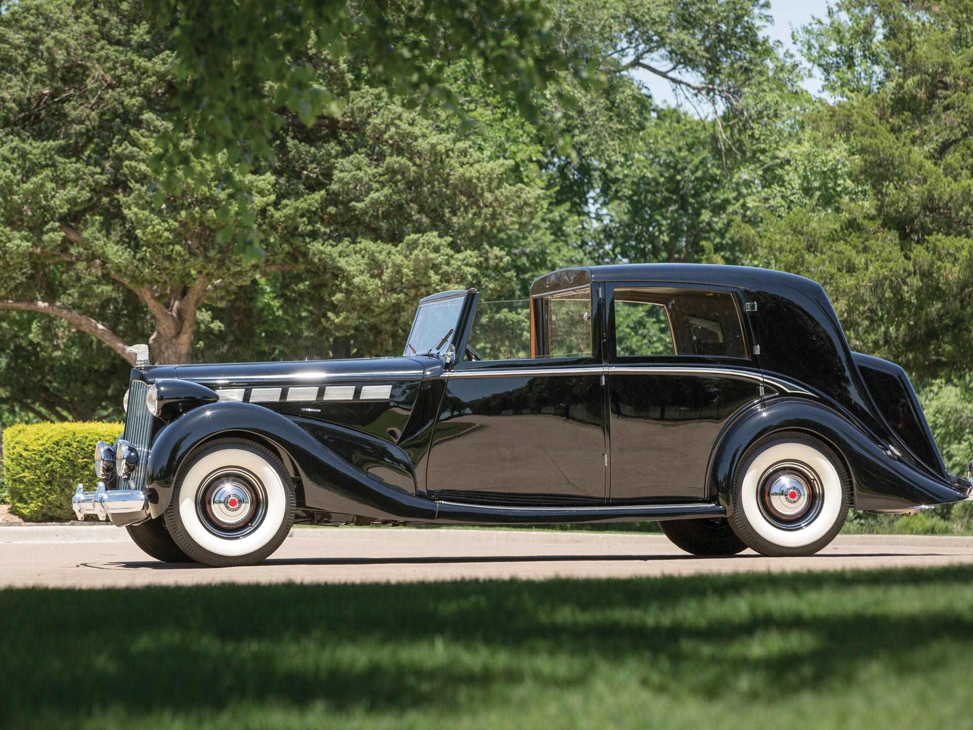 1938 Packard Super Eight Sedanca deVille by Barker