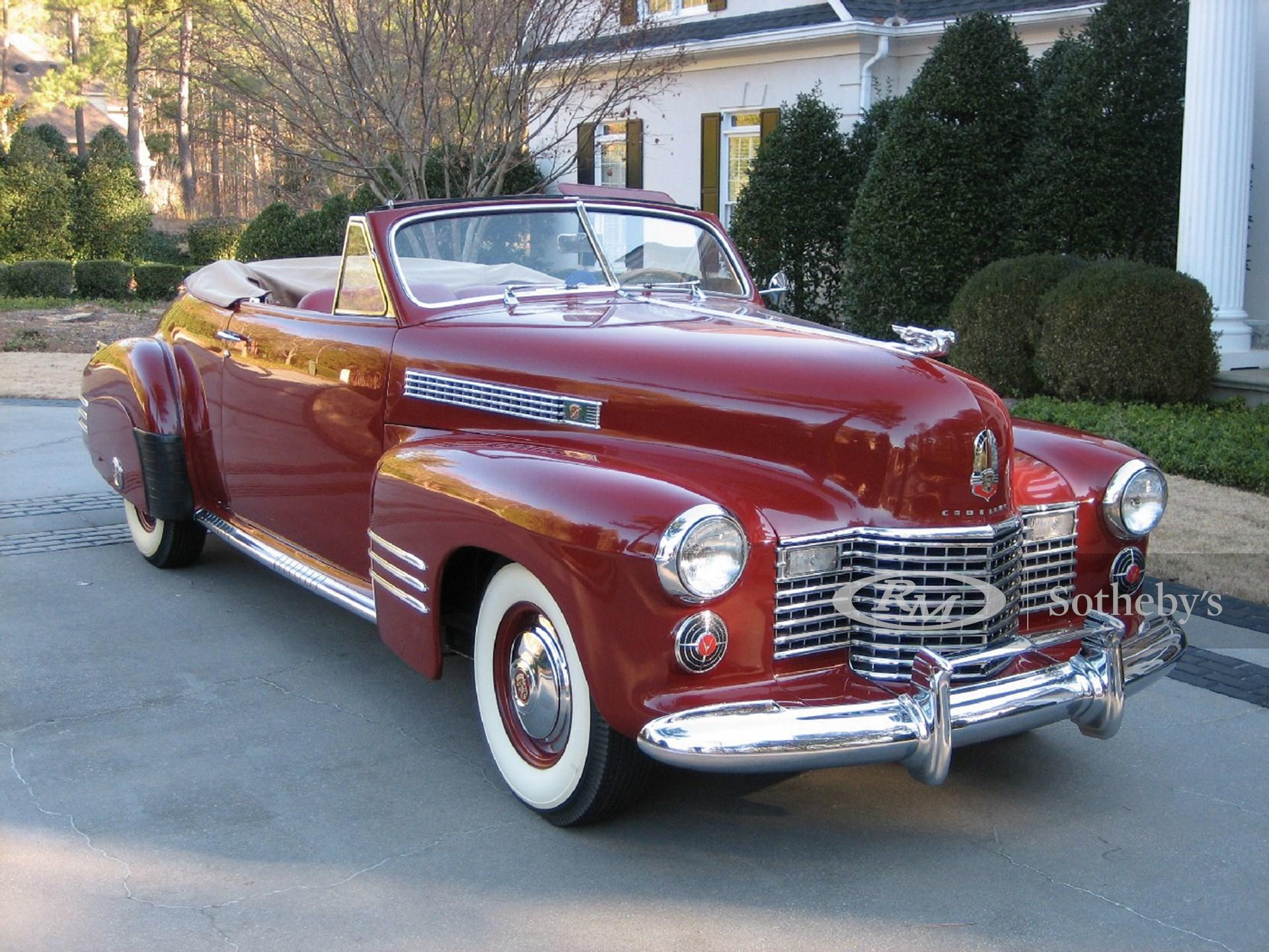 1941 Cadillac Series 62 Convertible Coupe  -