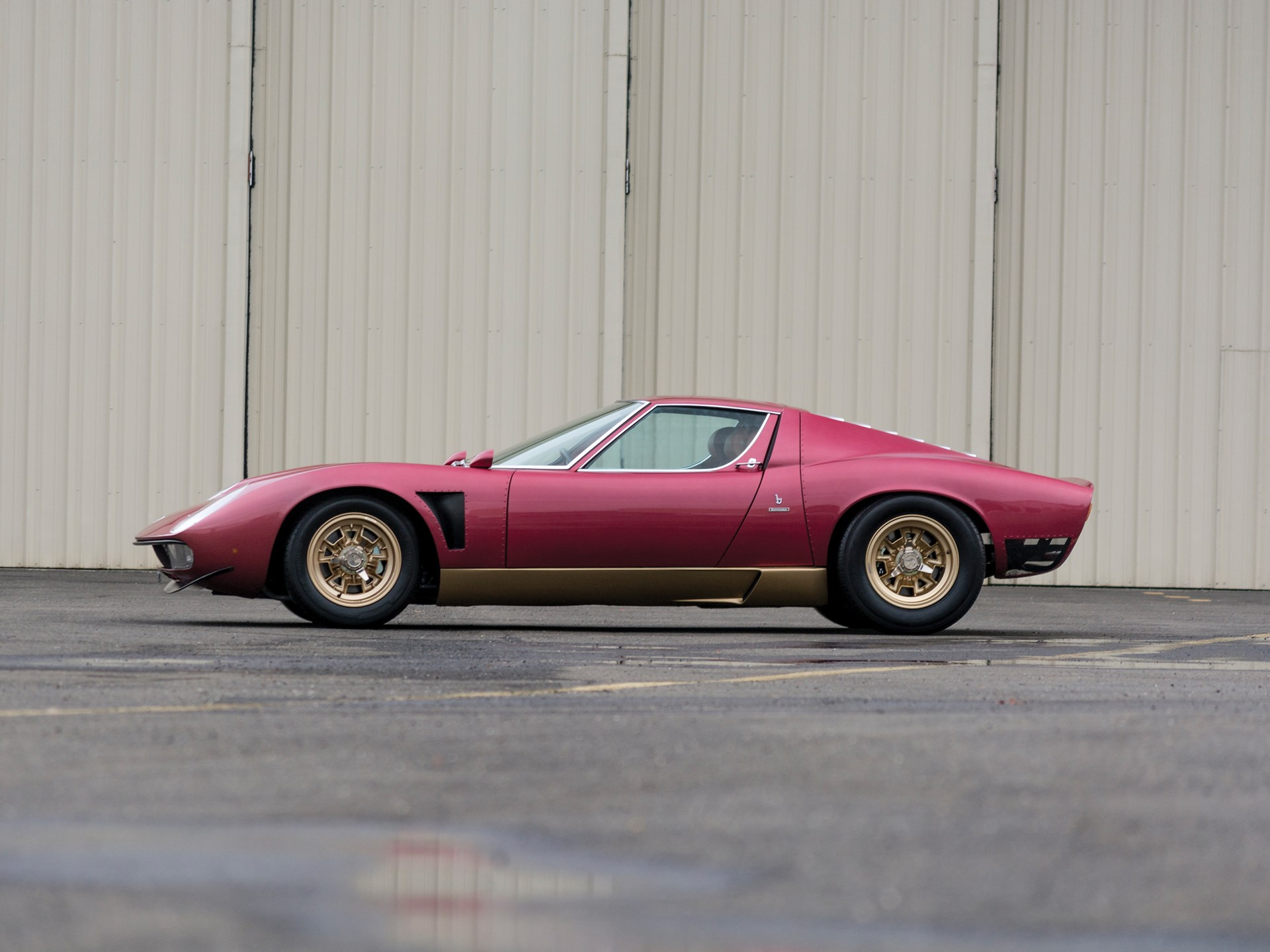 Rm Sotheby S 1971 Lamborghini Miura Svj By Bertone Arizona 2015