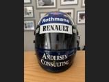 Damon Hill Renault Racing Suit and Helmet, 1995 - $