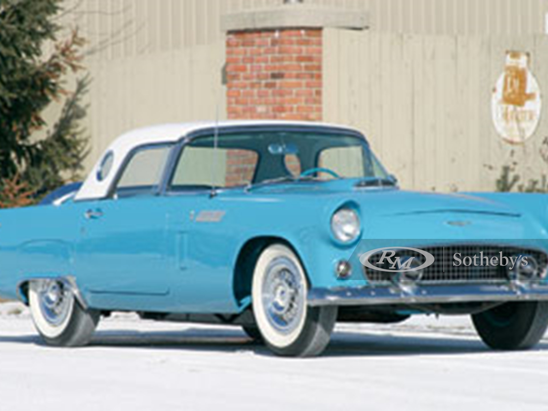1956 Ford Thunderbird  -