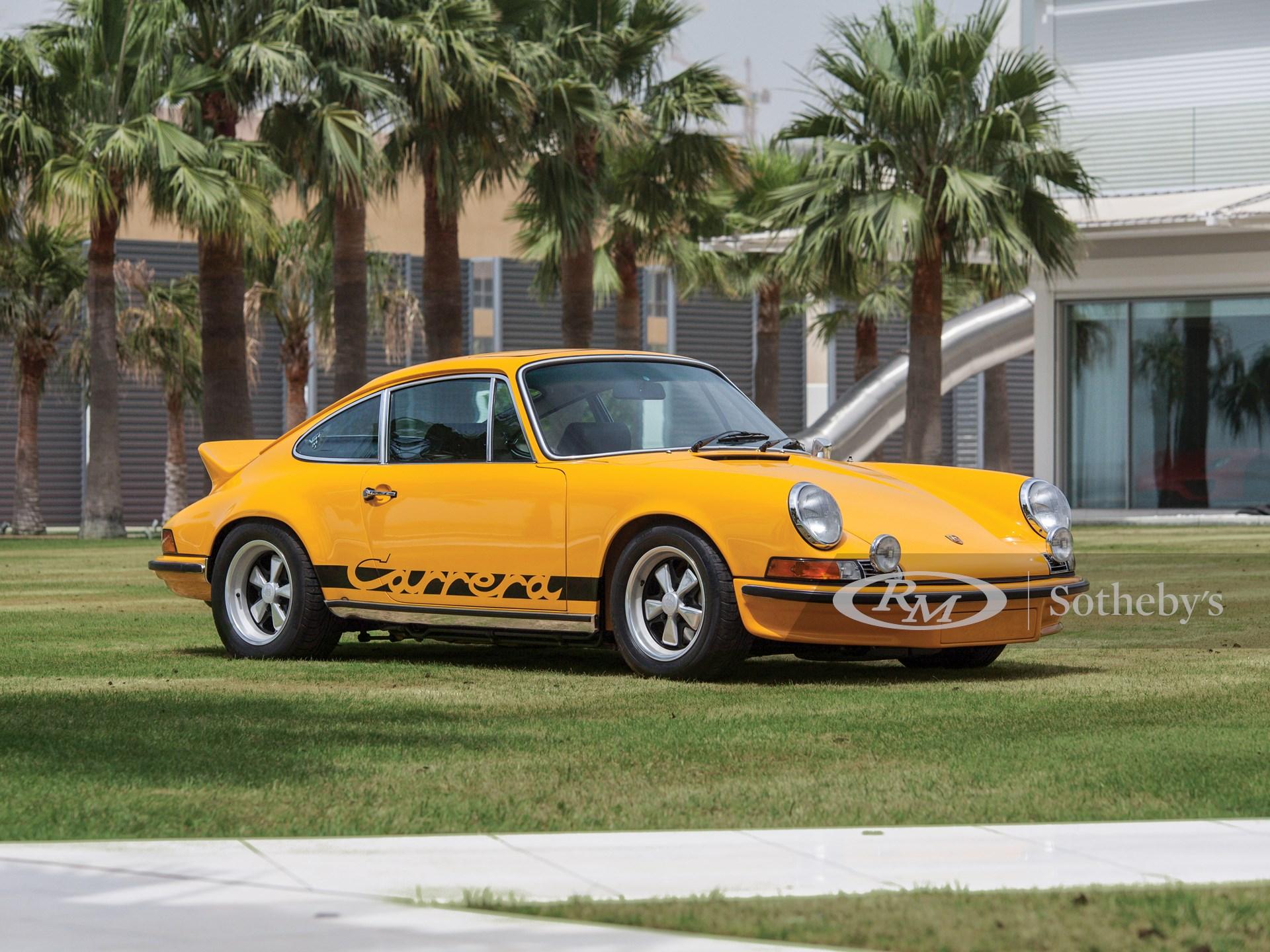 1973 Porsche 911 Carrera Rs 2 7 Touring Abu Dhabi 2019 Rm Sotheby S