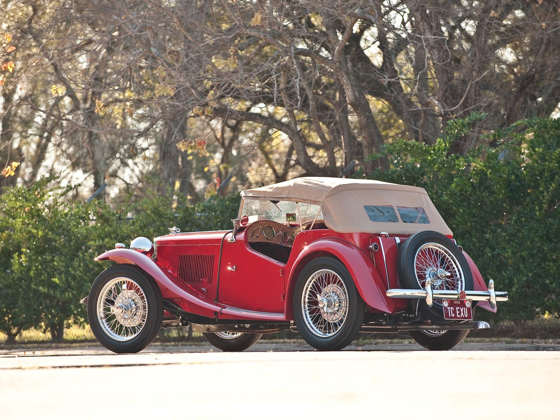 RM Sotheby's - 1950 MG TC SC