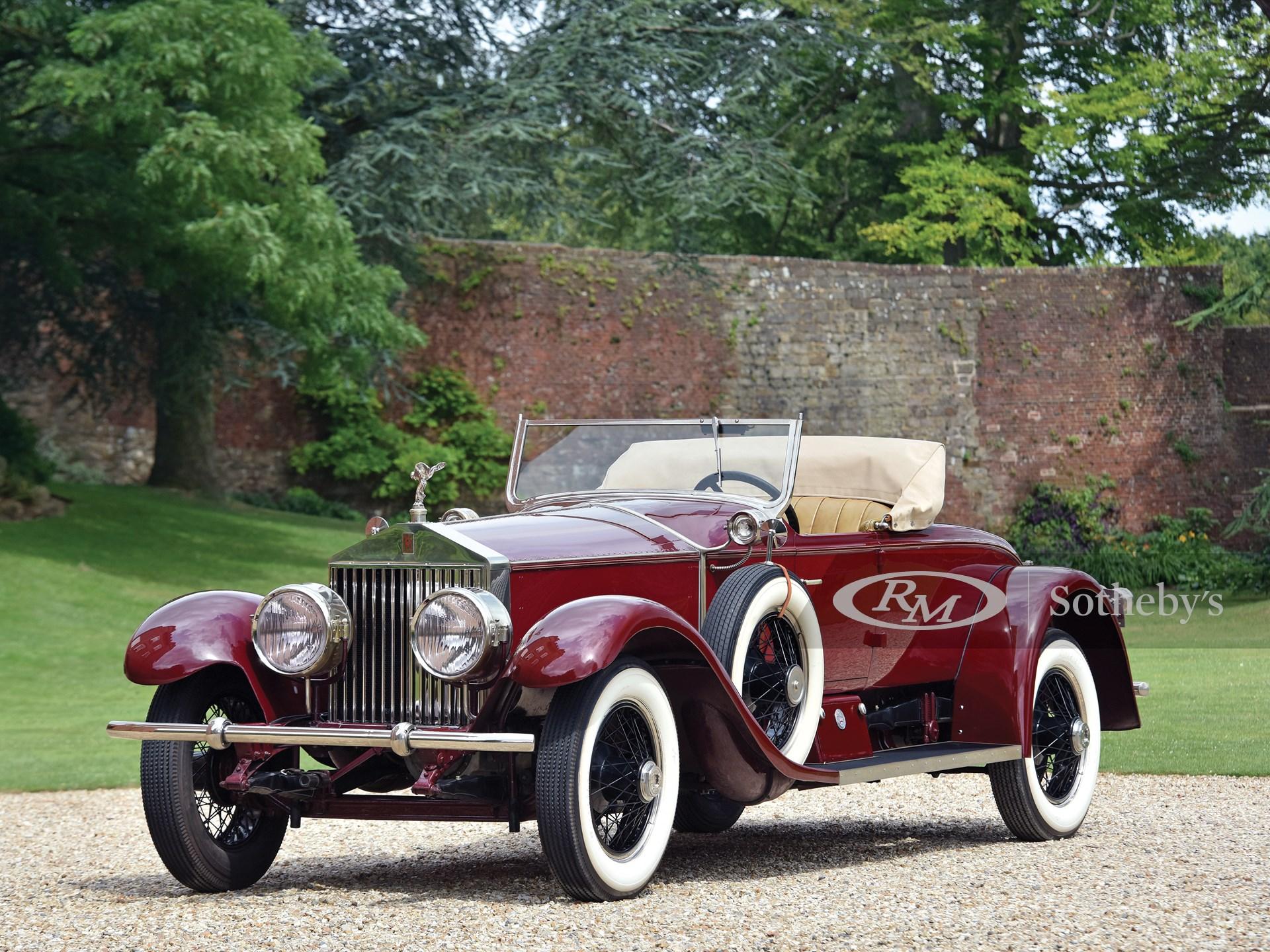 1926 rolls royce silver ghost piccadilly roadster by rolls royce custom coach work london 2016 rm sotheby s 1926 rolls royce silver ghost